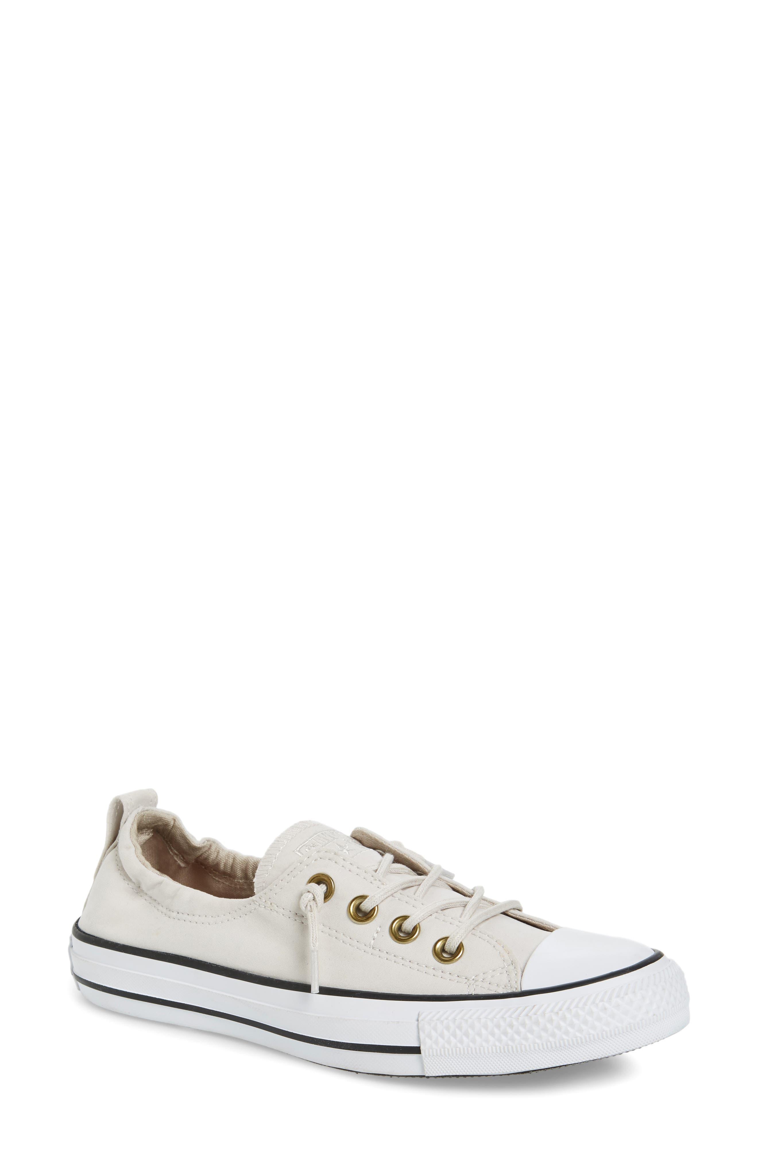 Main Image - Converse Chuck Taylor® All Star® Shoreline Peached Twill Sneaker (Women)