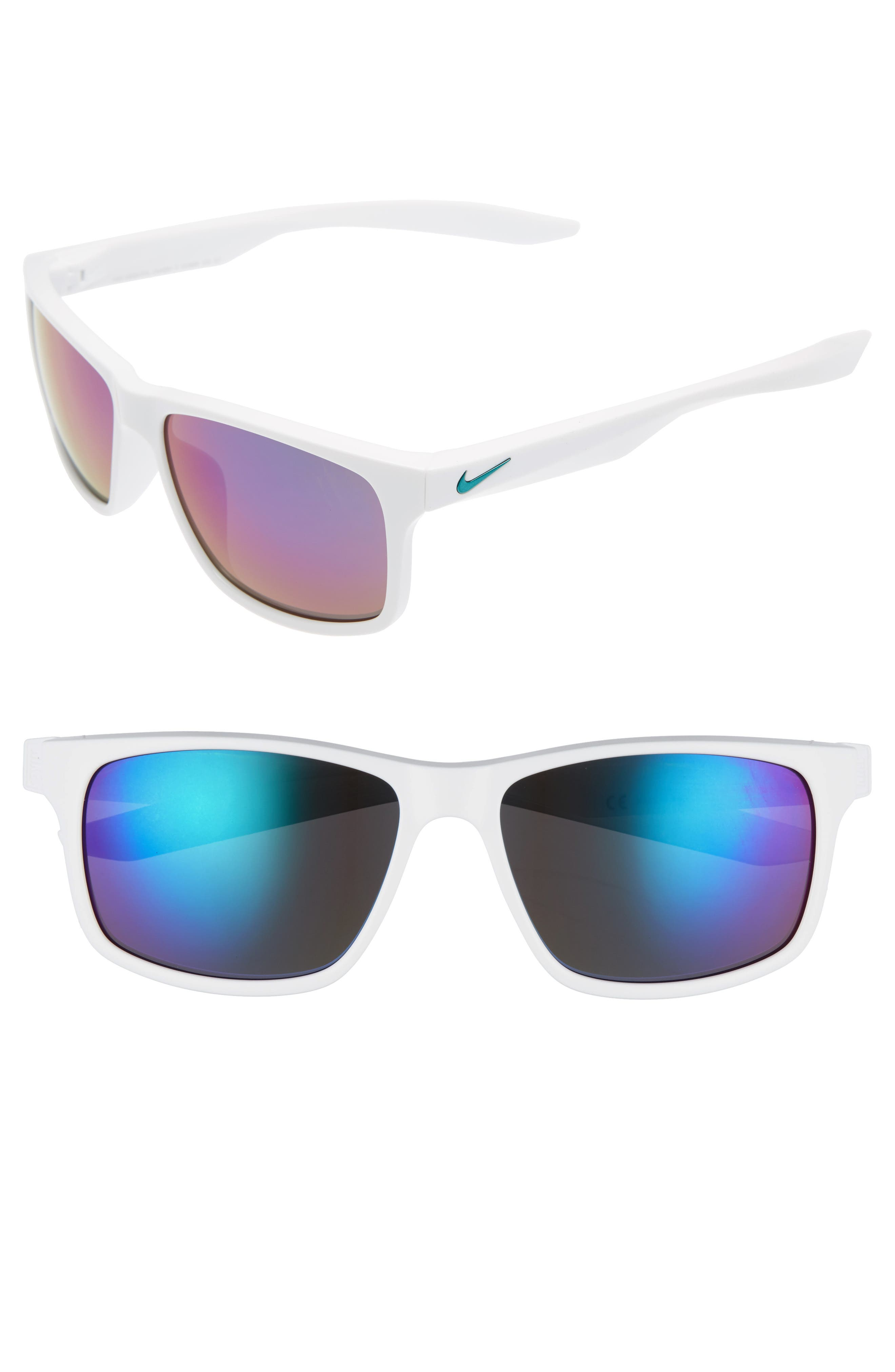 Nike Essential Chaser 59mm Reflective Sunglasses