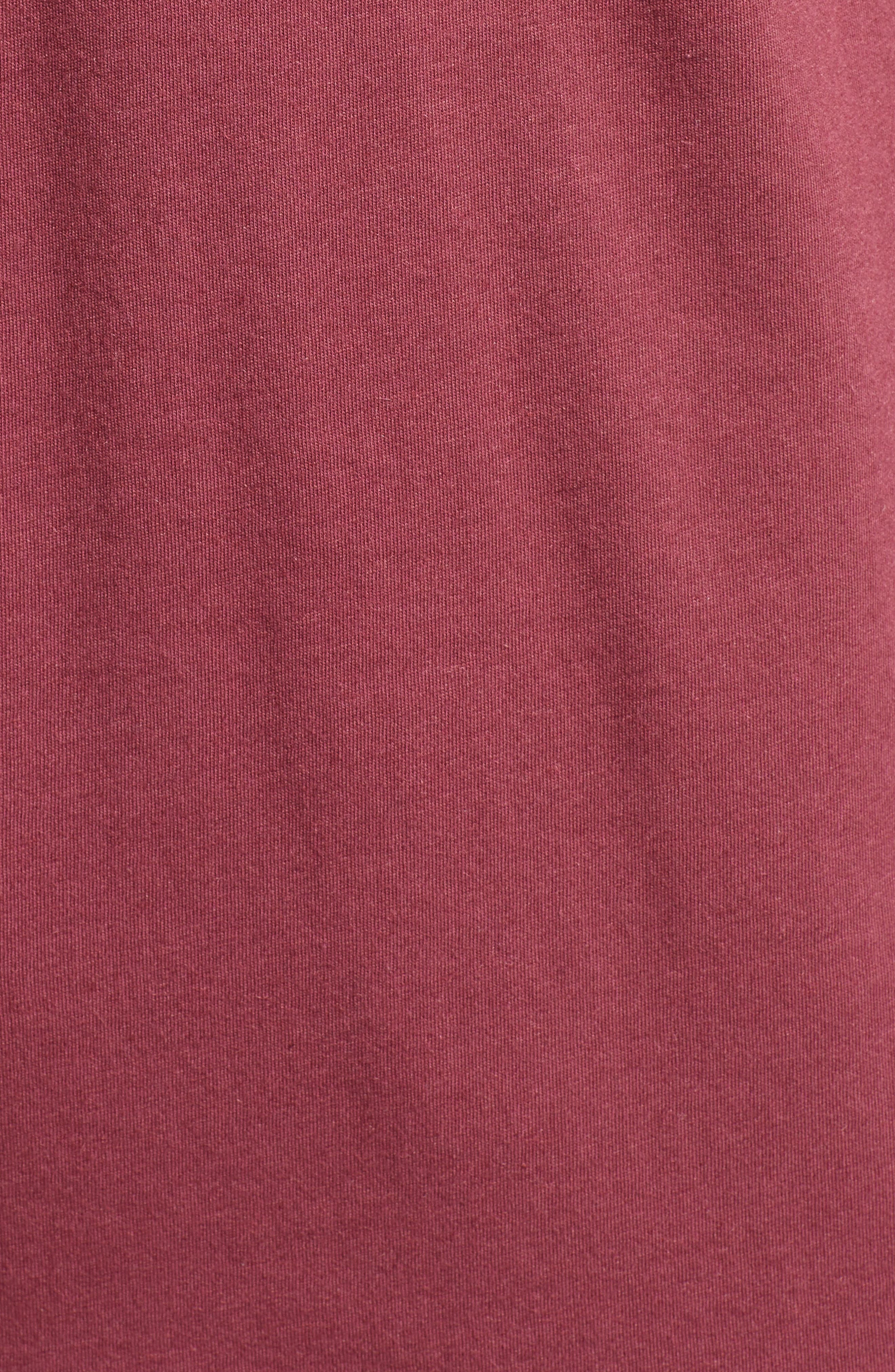 Pocket T-Shirt,                             Alternate thumbnail 5, color,                             Red