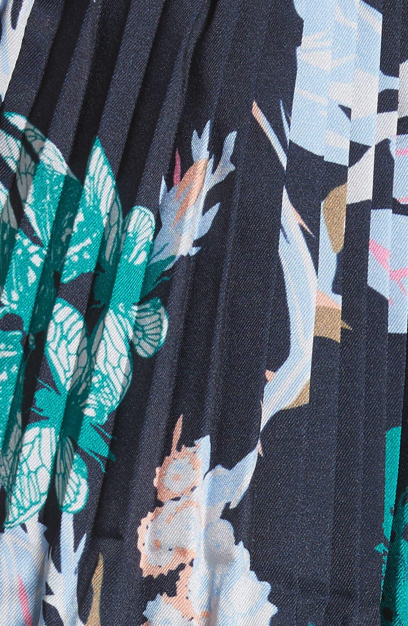 Alternate Image 5  - Tibi Edwardian Crop Floral Top