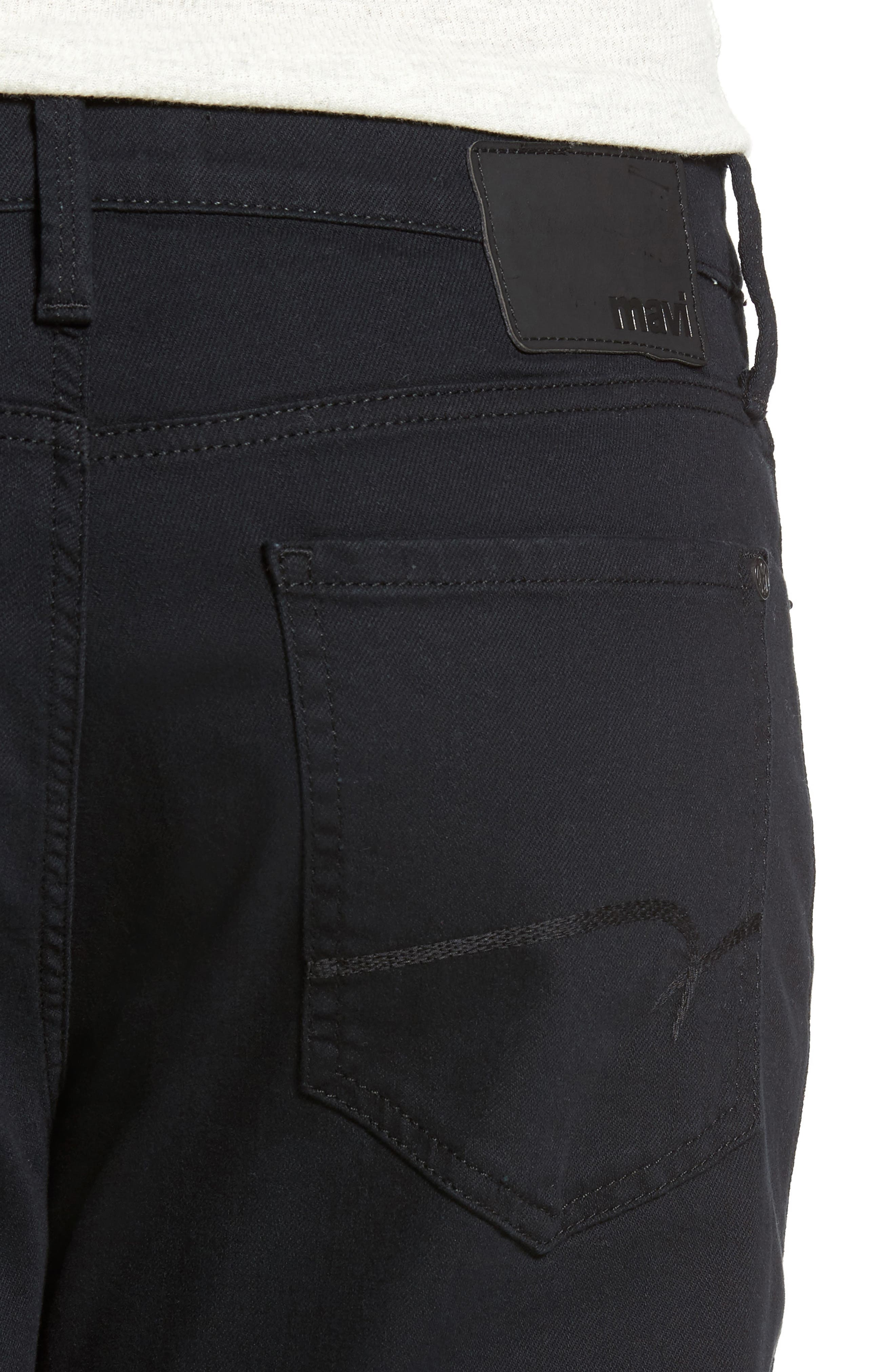 Alternate Image 4  - Mavi Jeans Matt Relaxed Fit Jeans (Black Williamsburg)