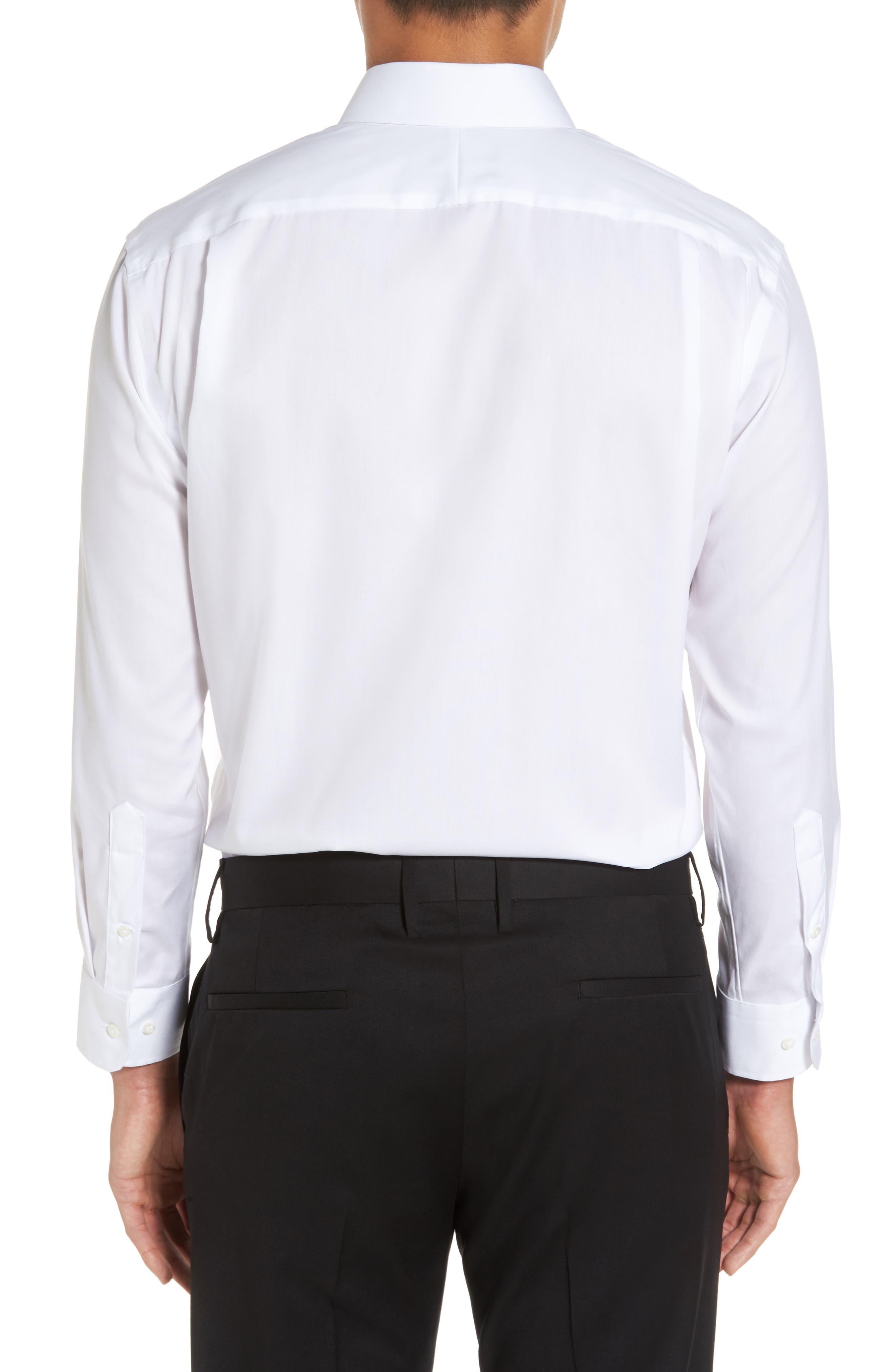Alternate Image 2  - Nordstrom Men's Shop Trim Fit Non-Iron Dress Shirt