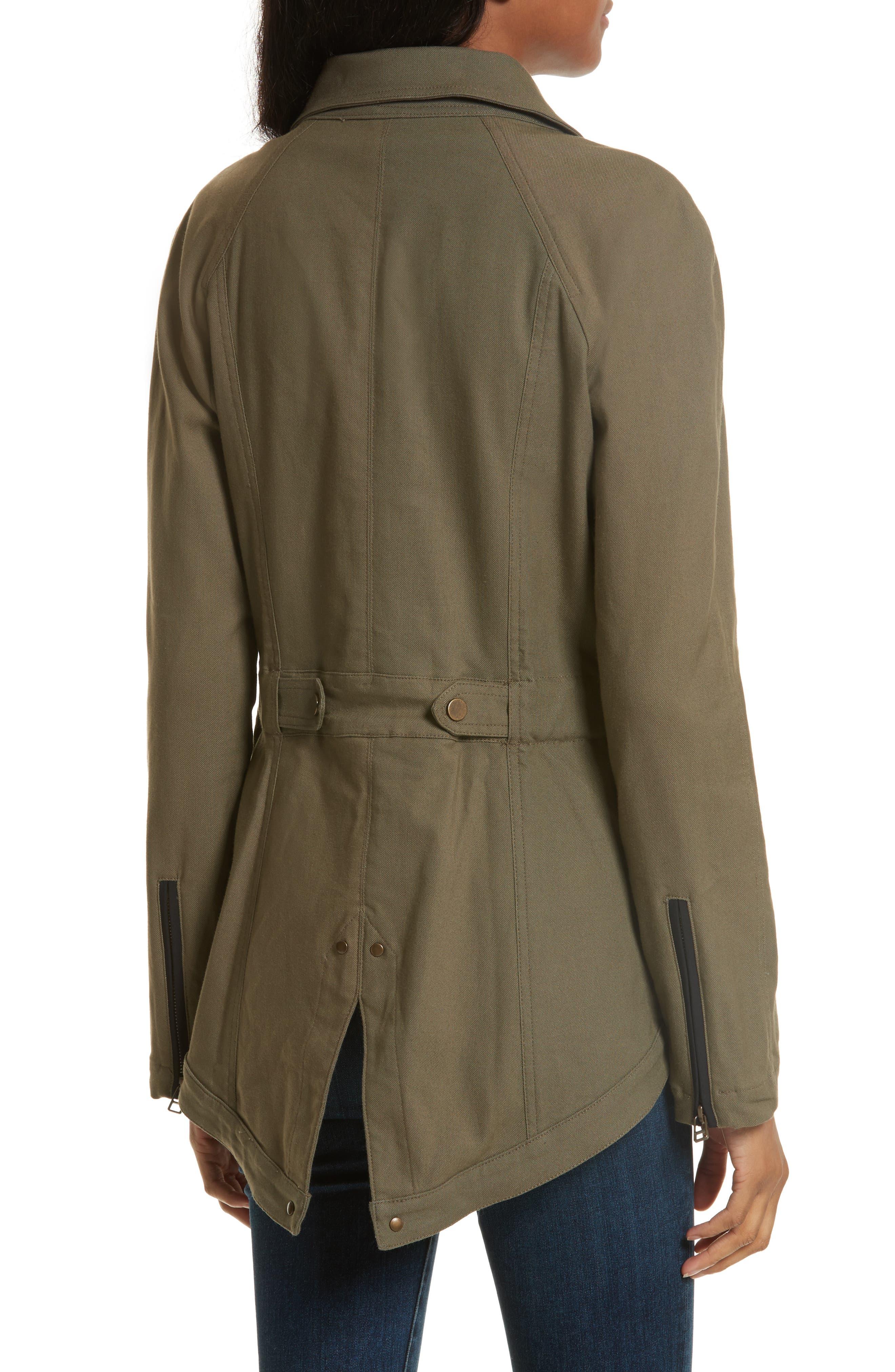 Alternate Image 2  - Veronica Beard Army Jacket