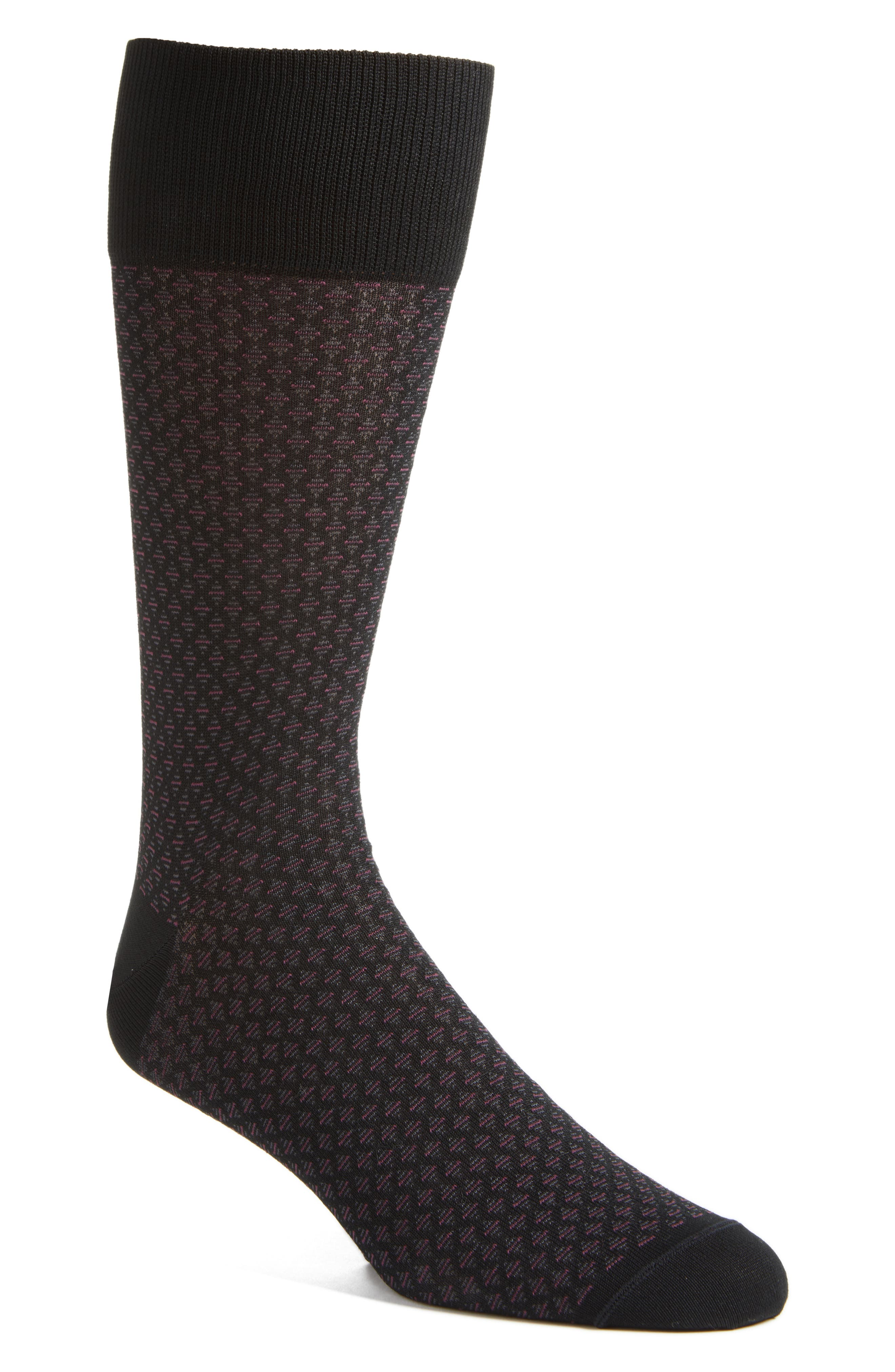 John W. Nordstrom® Diamond Socks