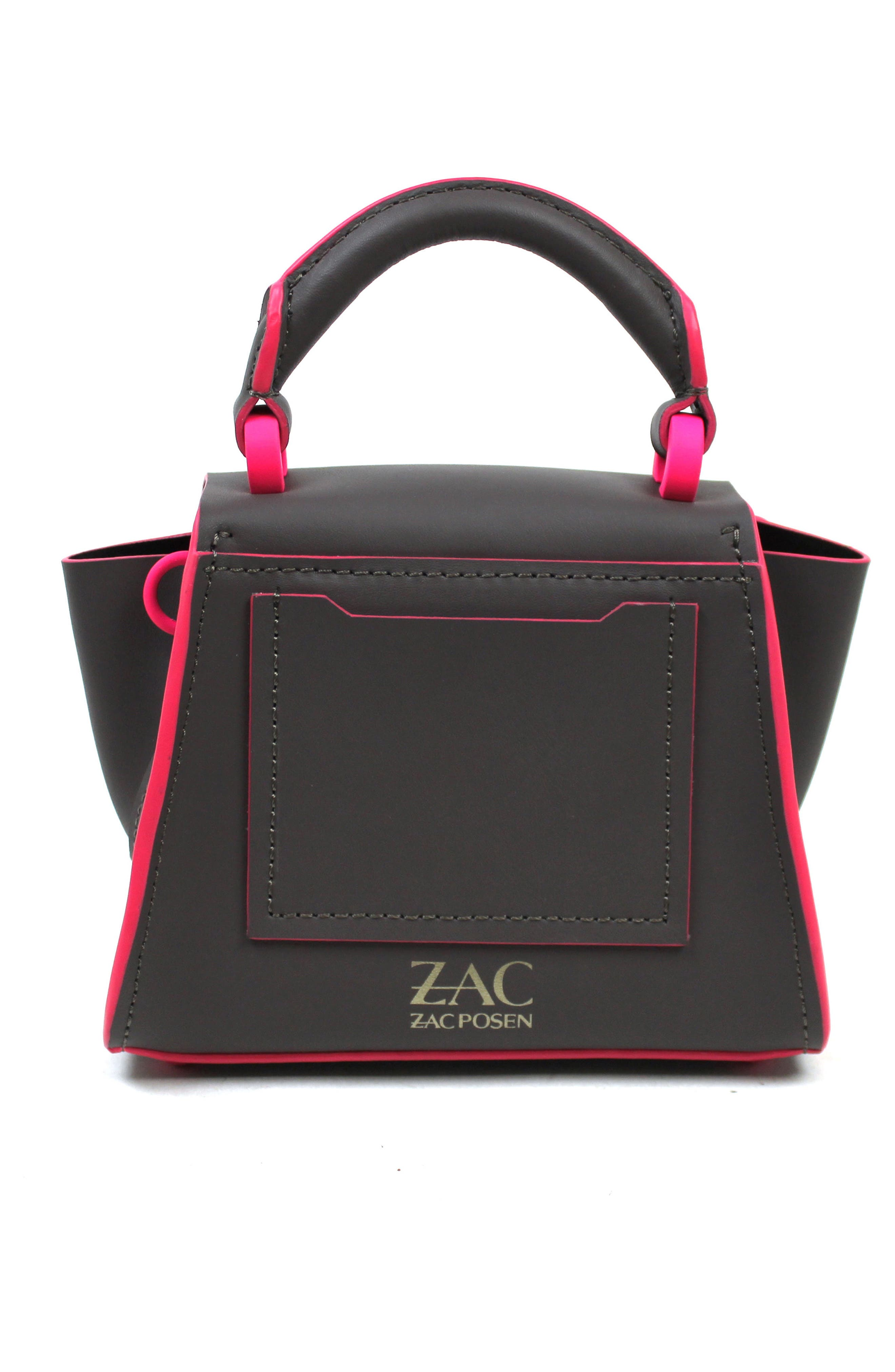 Alternate Image 2  - ZAC Zac Posen Eartha Iconic Leather Soft Handle Mini Bag