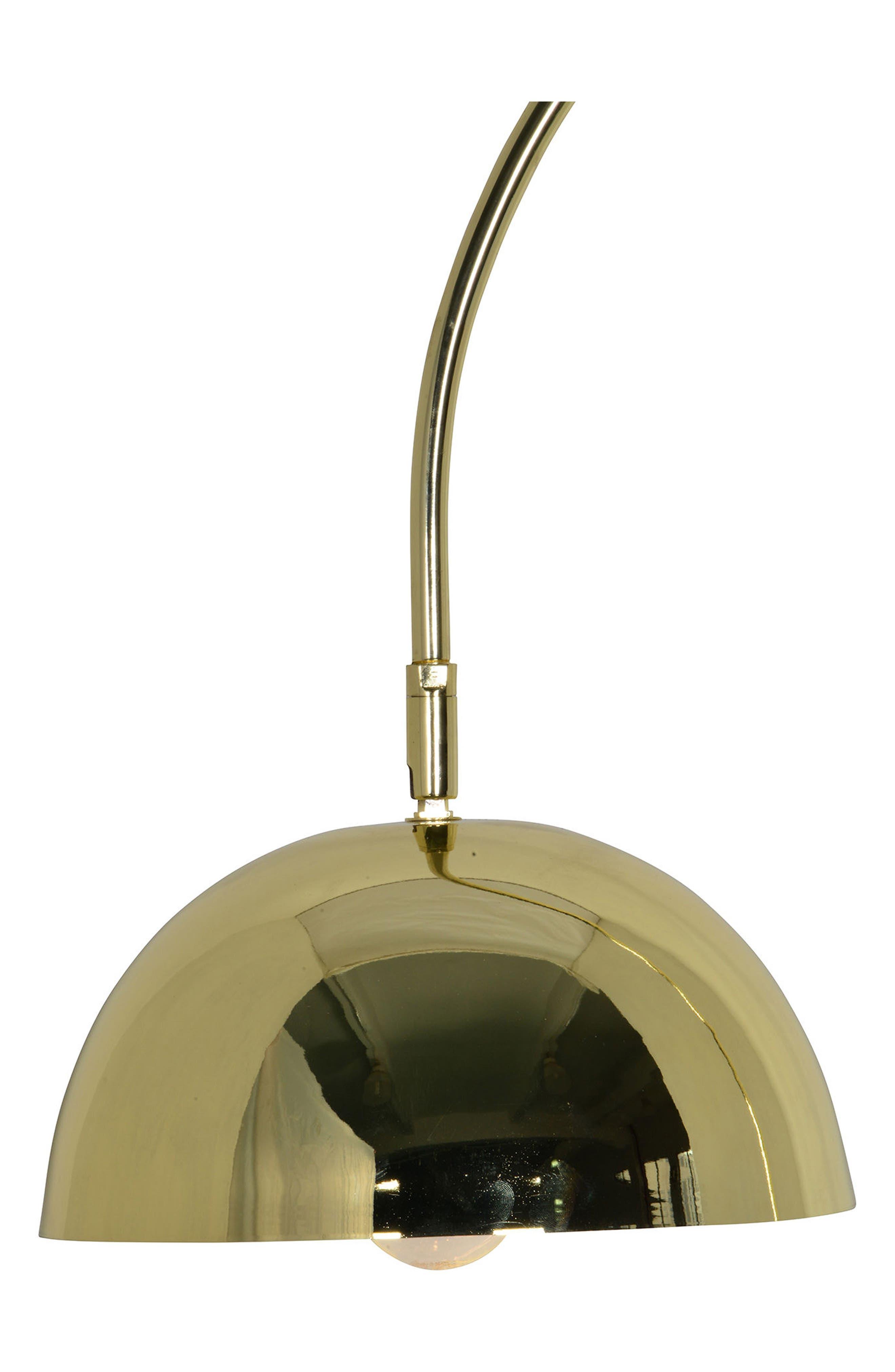 Polished Floor Lamp,                             Alternate thumbnail 2, color,                             Polished Brass