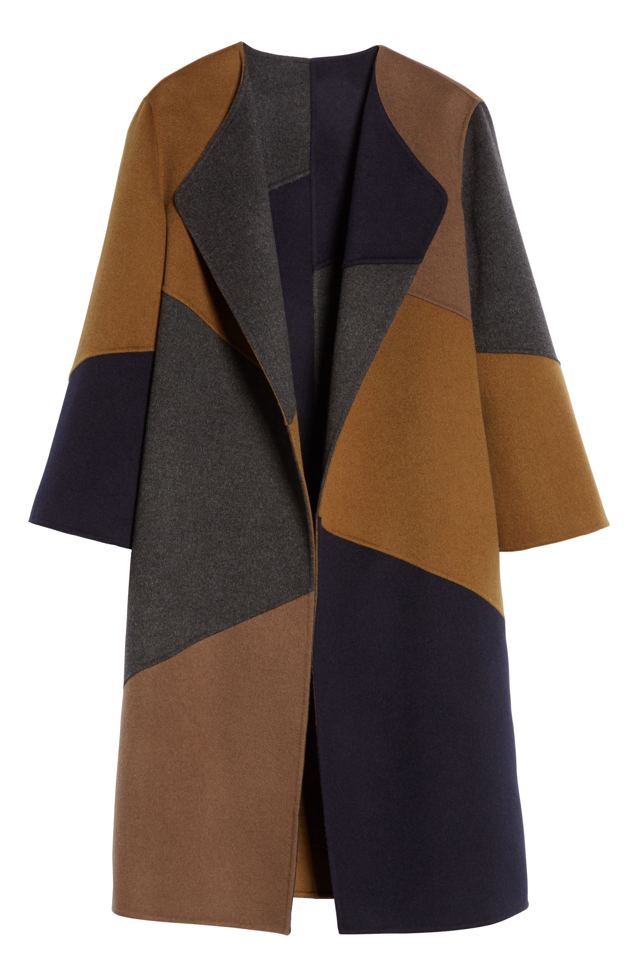 Alternate Image 6  - Lafayette 148 New York Belissa Double Face Reversible Coat