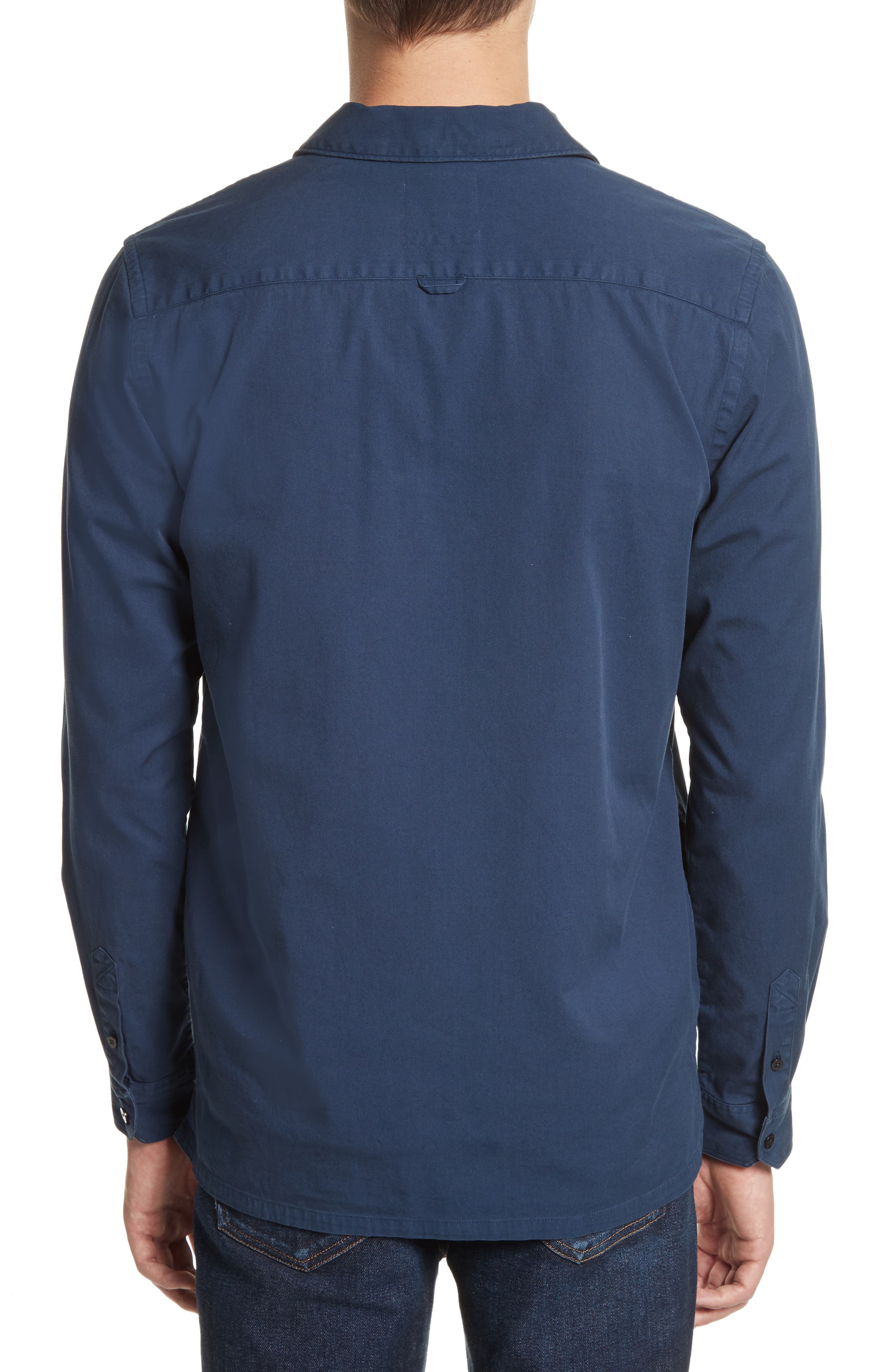 Alternate Image 2  - Norse Projects Jens Garment Dyed Twill Jacket