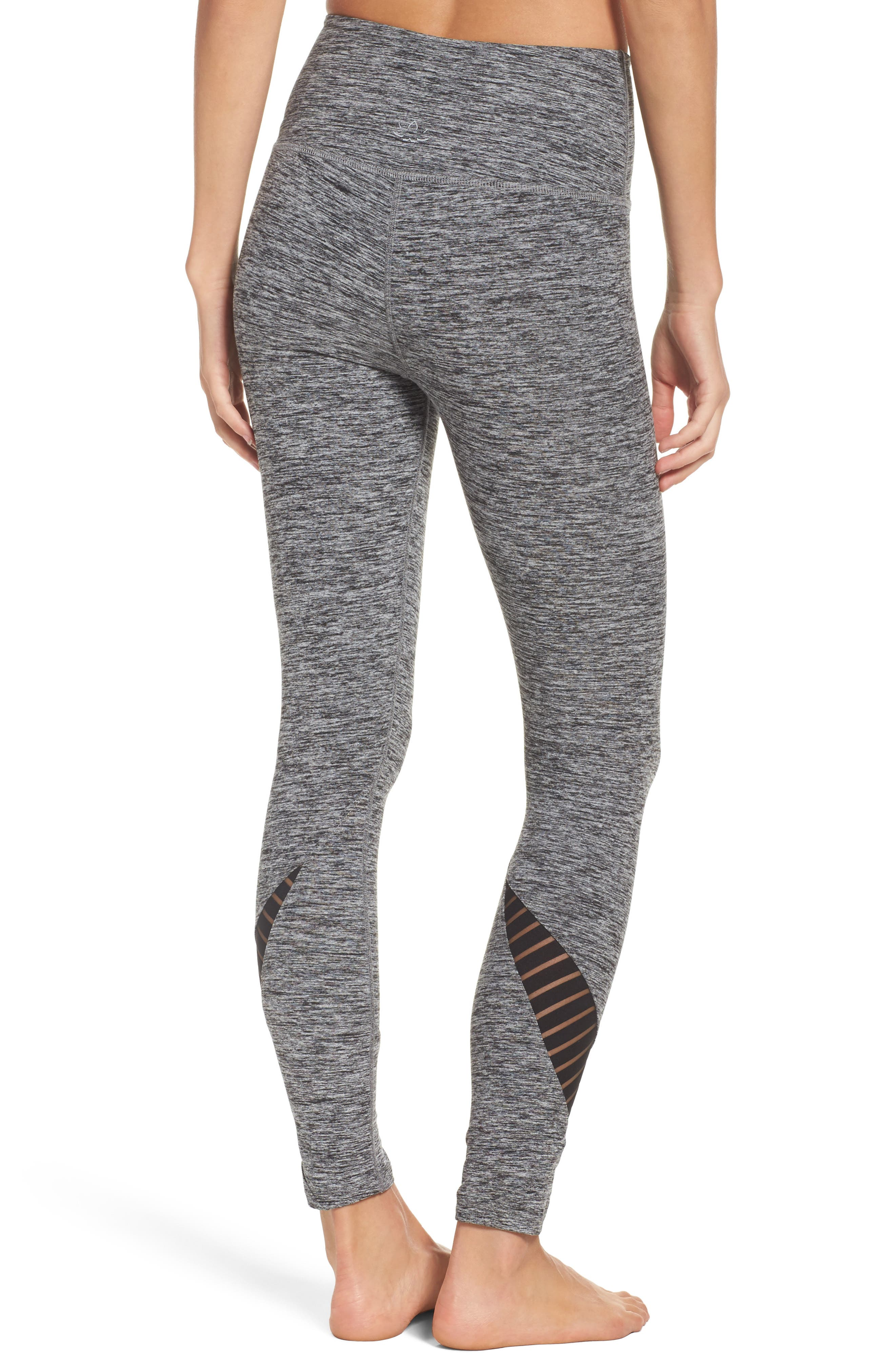 Alternate Image 2  - Beyond Yoga Stacked & Sliced High Waist Leggings