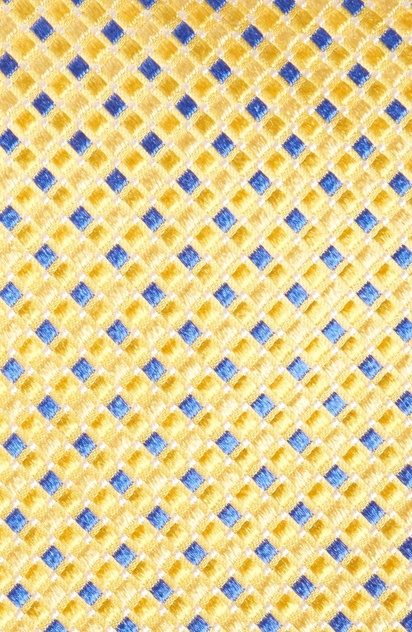 Alternate Image 3  - Nordstrom Men's Shop Geo Pattern Silk Tie