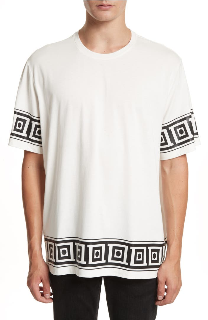 Versace collection relaxed fit frame print t shirt nordstrom for Relaxed fit t shirt