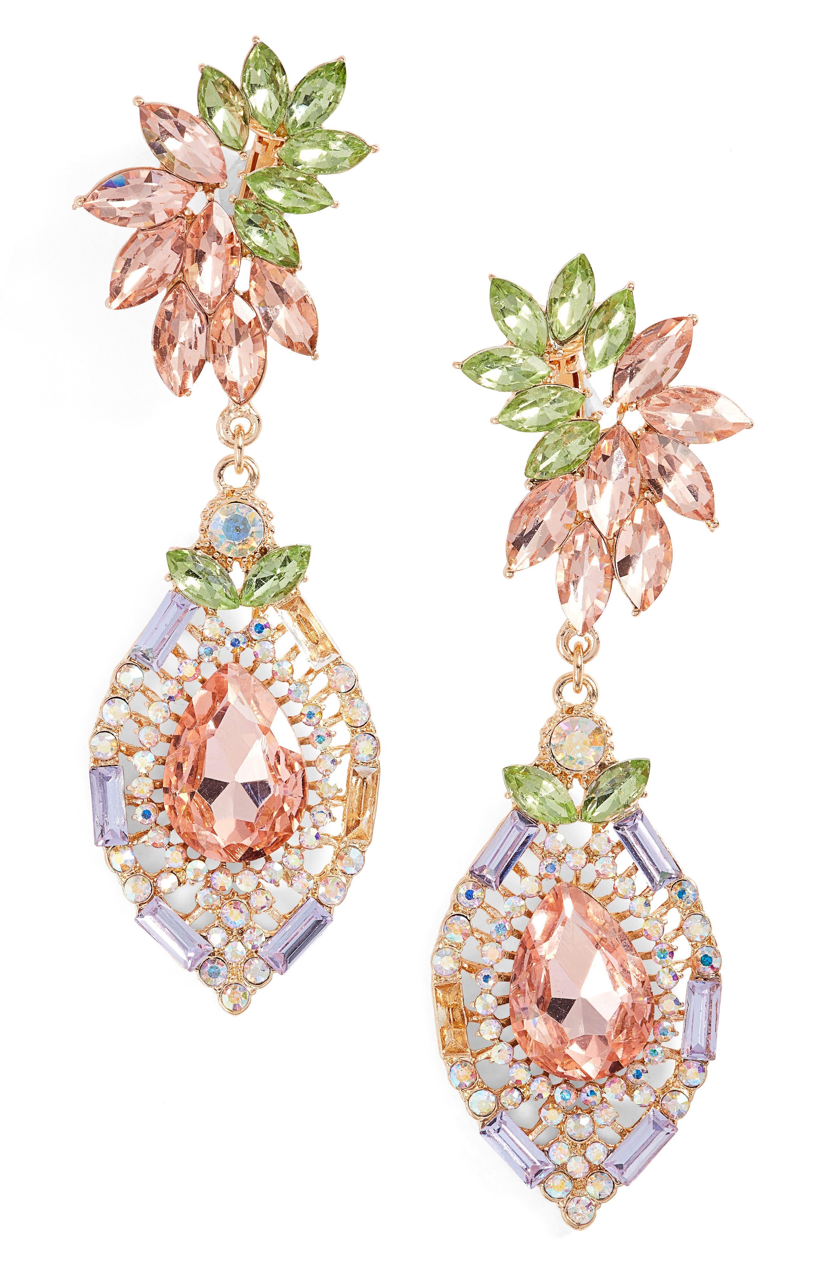 Adia Kibur Crystal Clip-On Earrings