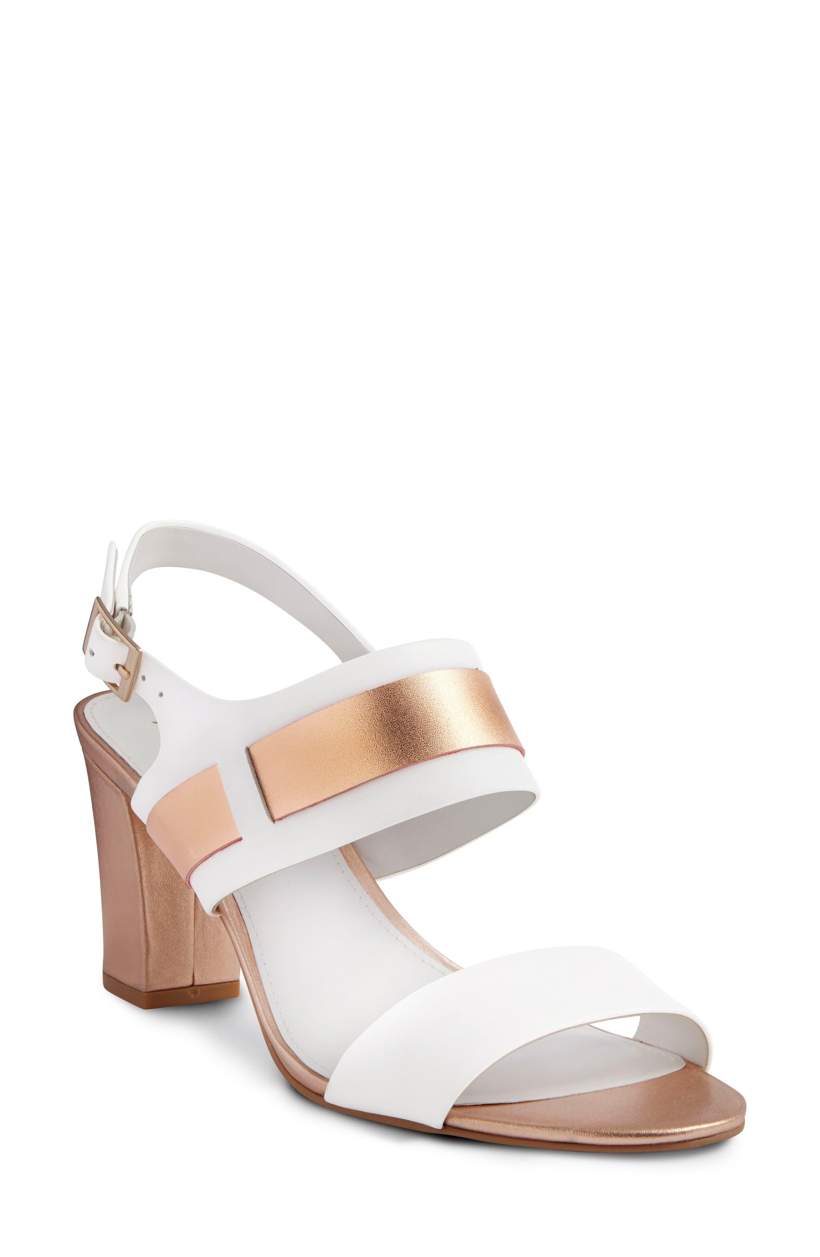 SHOES OF PREY Slingback Sandal