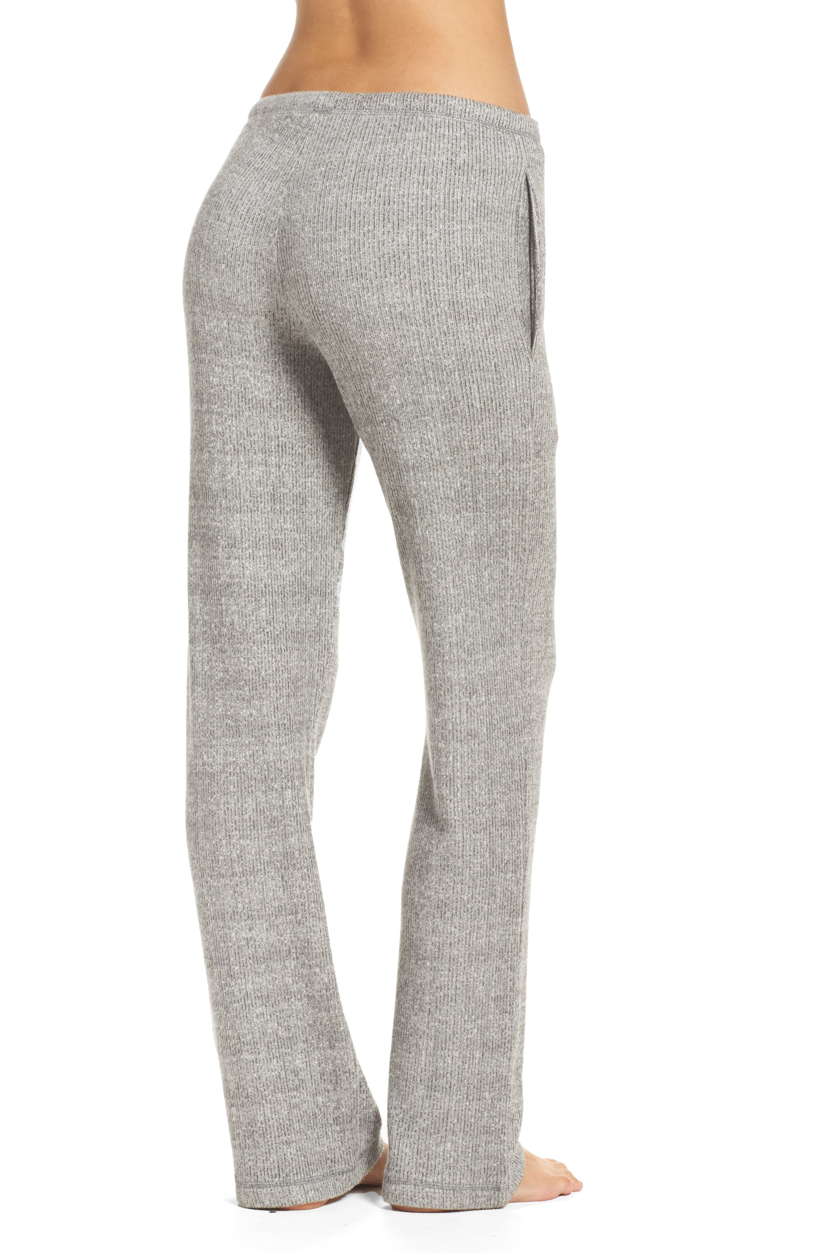 Knit Lounge Pants,                             Alternate thumbnail 2, color,                             Grey