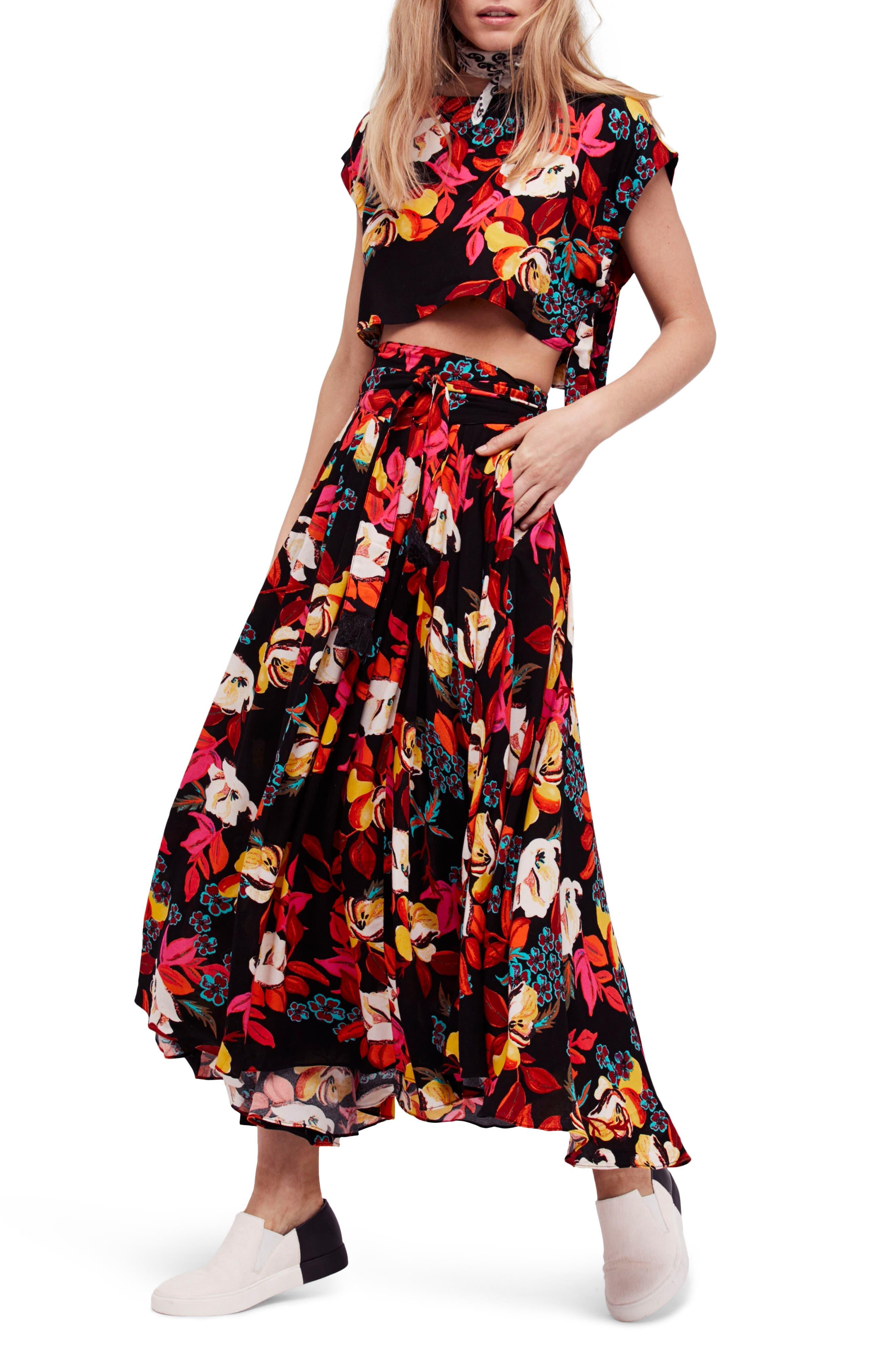 Sundown Two-Piece Dress,                         Main,                         color, Black Combo