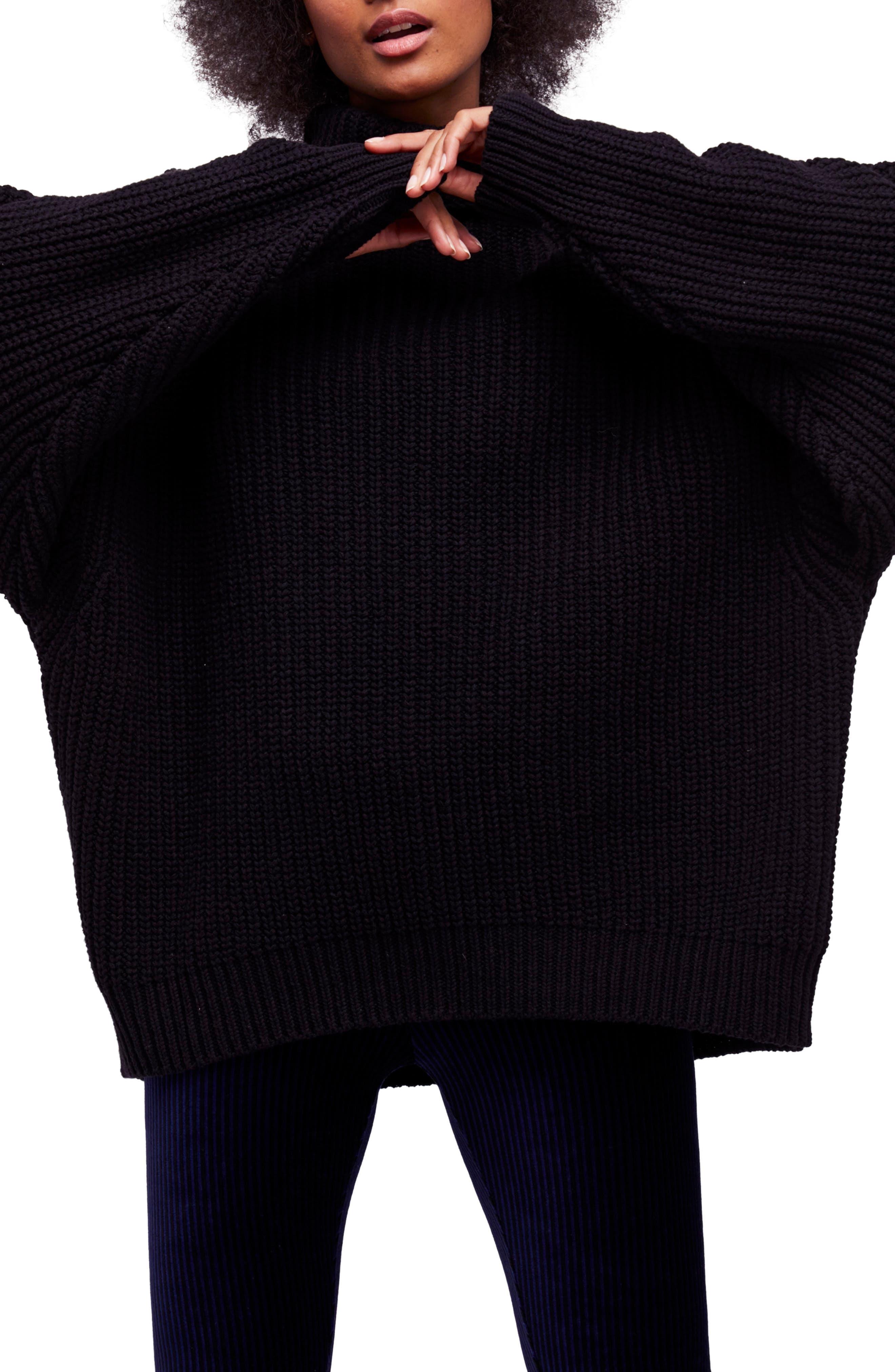 Free People Swim Too Deep Turtleneck Sweater