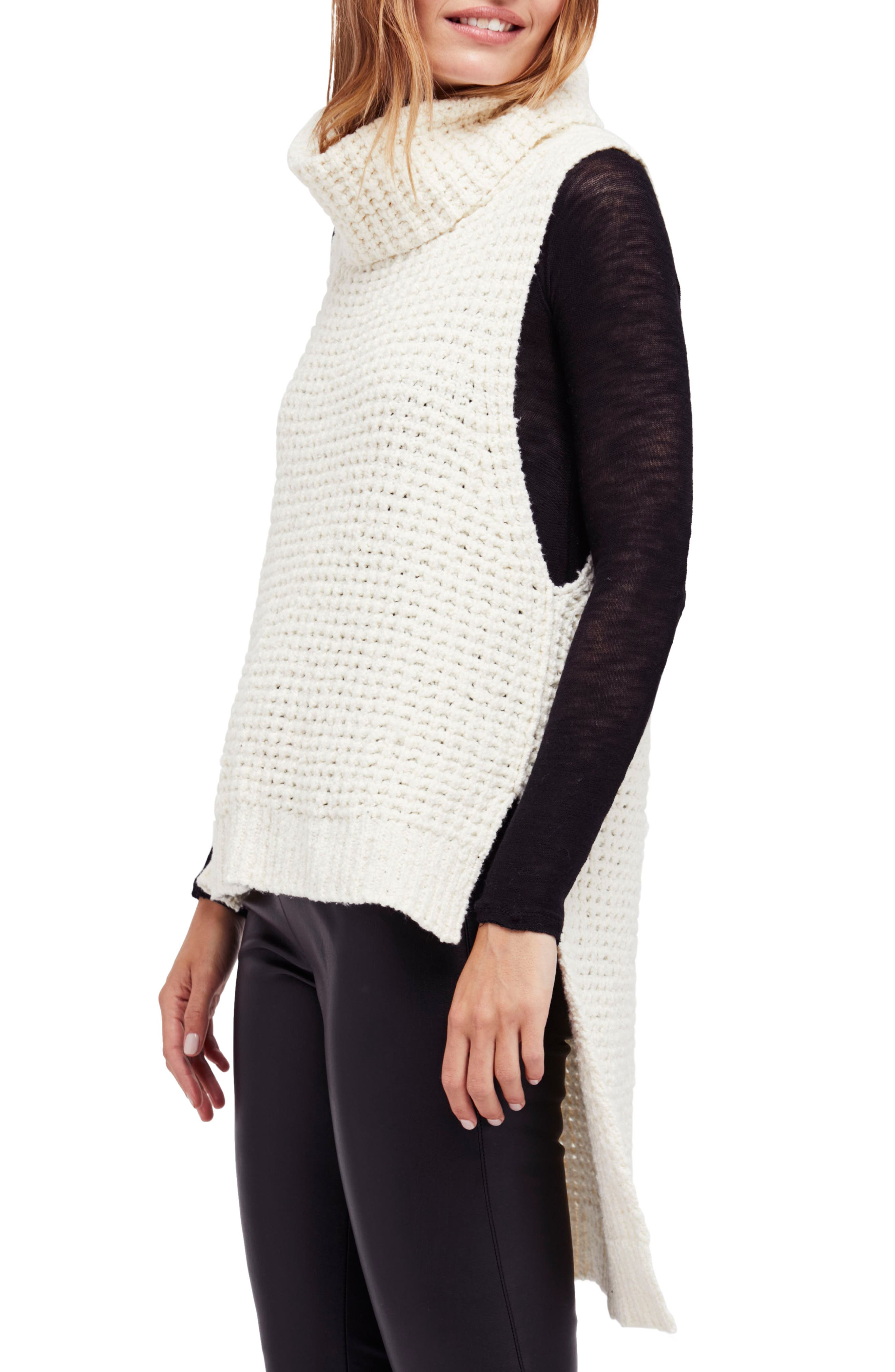 Free People Skyscraper Sleeveless Sweater