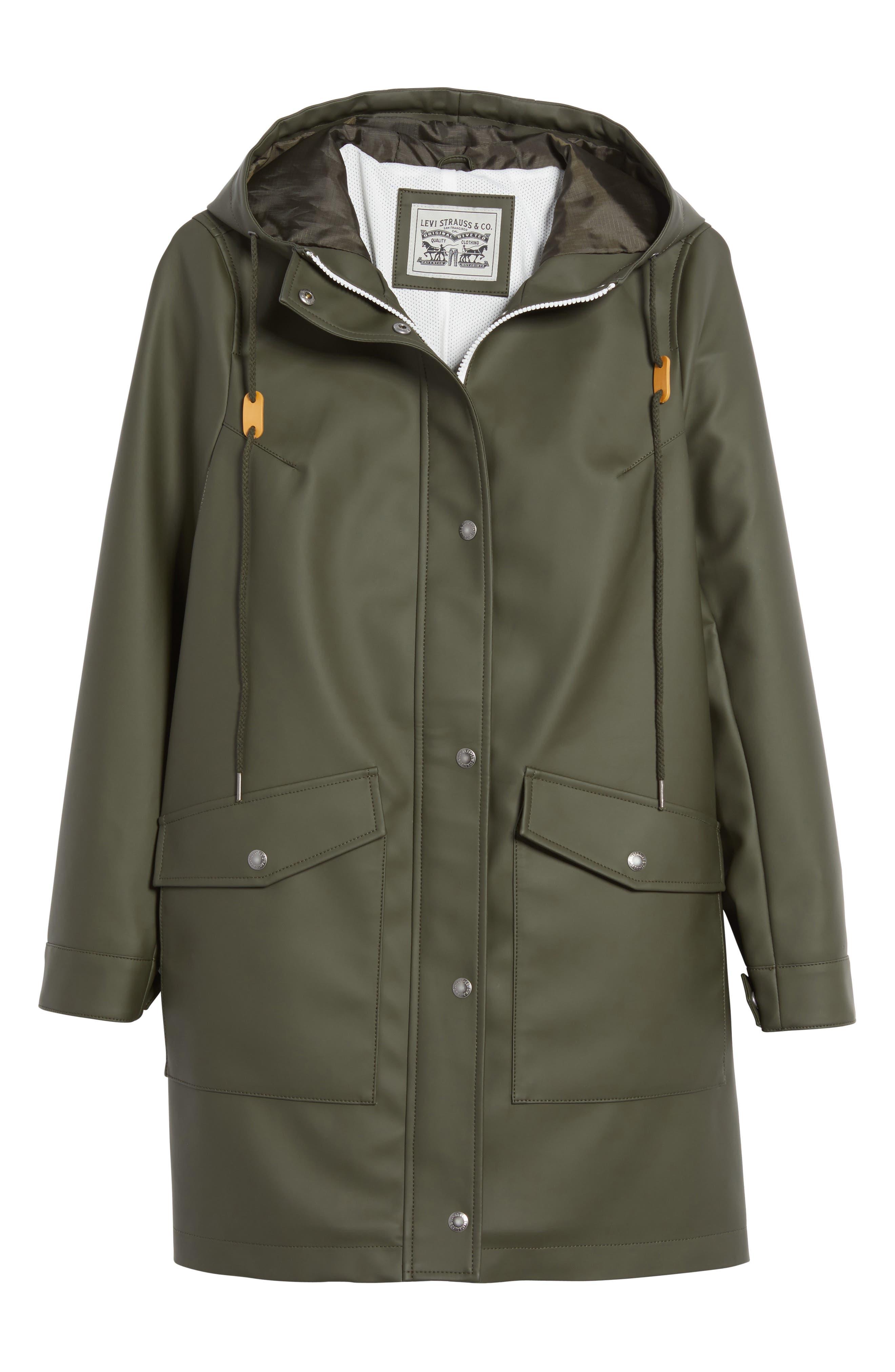 Alternate Image 6  - Levi's® Rain Jacket