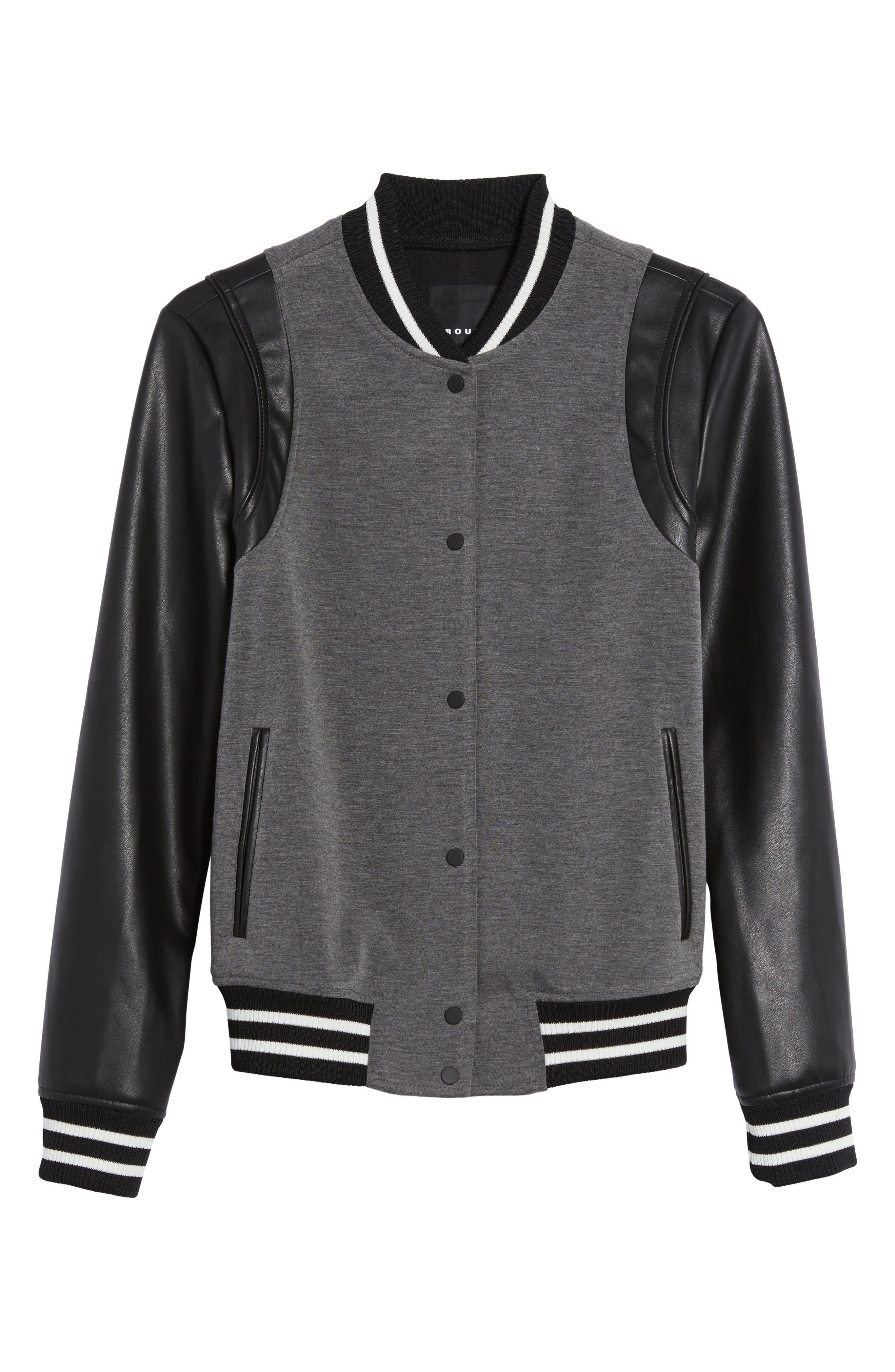 Alternate Image 6  - Trouvé Varsity Jacket