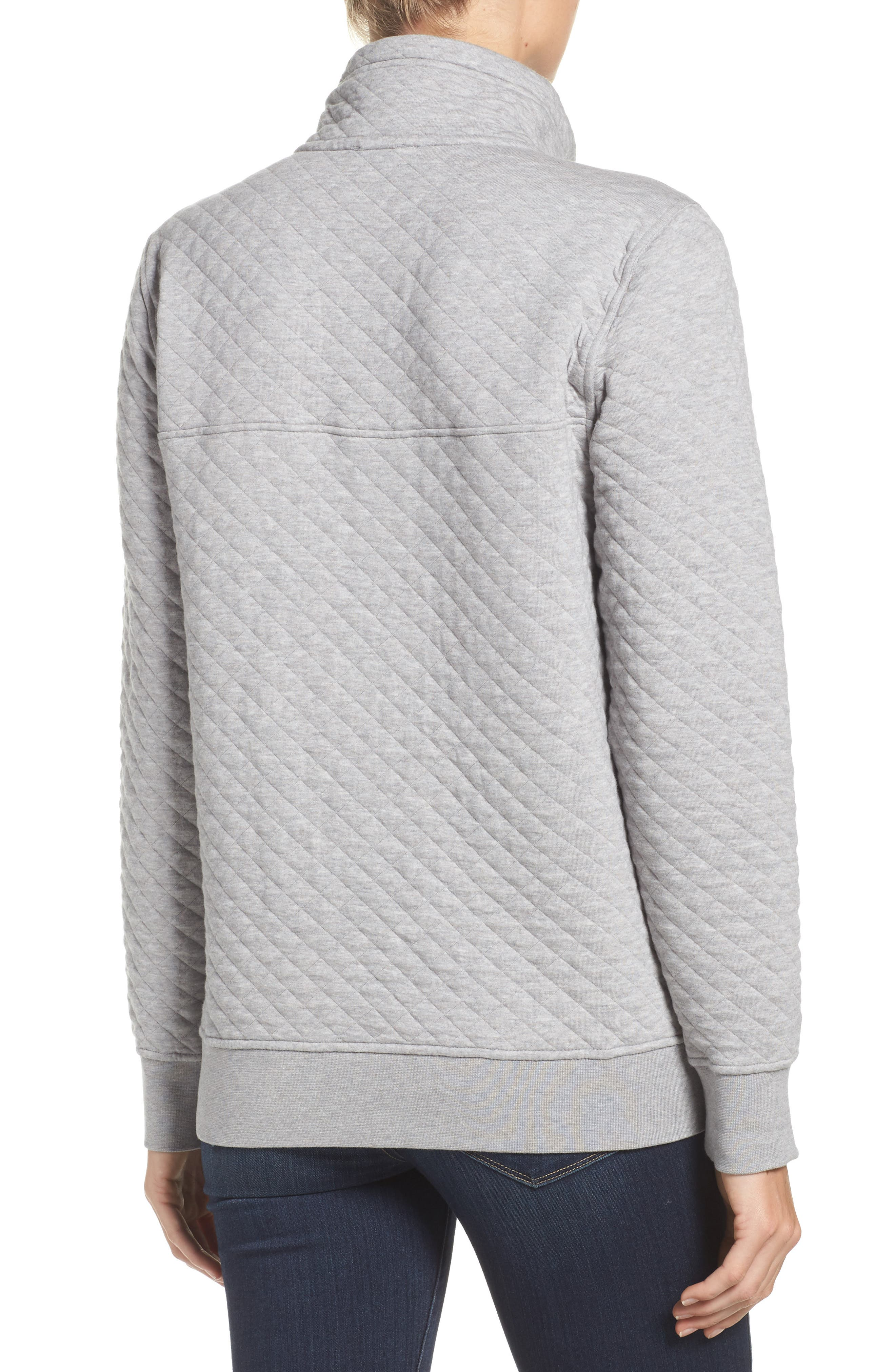 Alternate Image 2  - Patagonia Snap-T® Quilted Pullover
