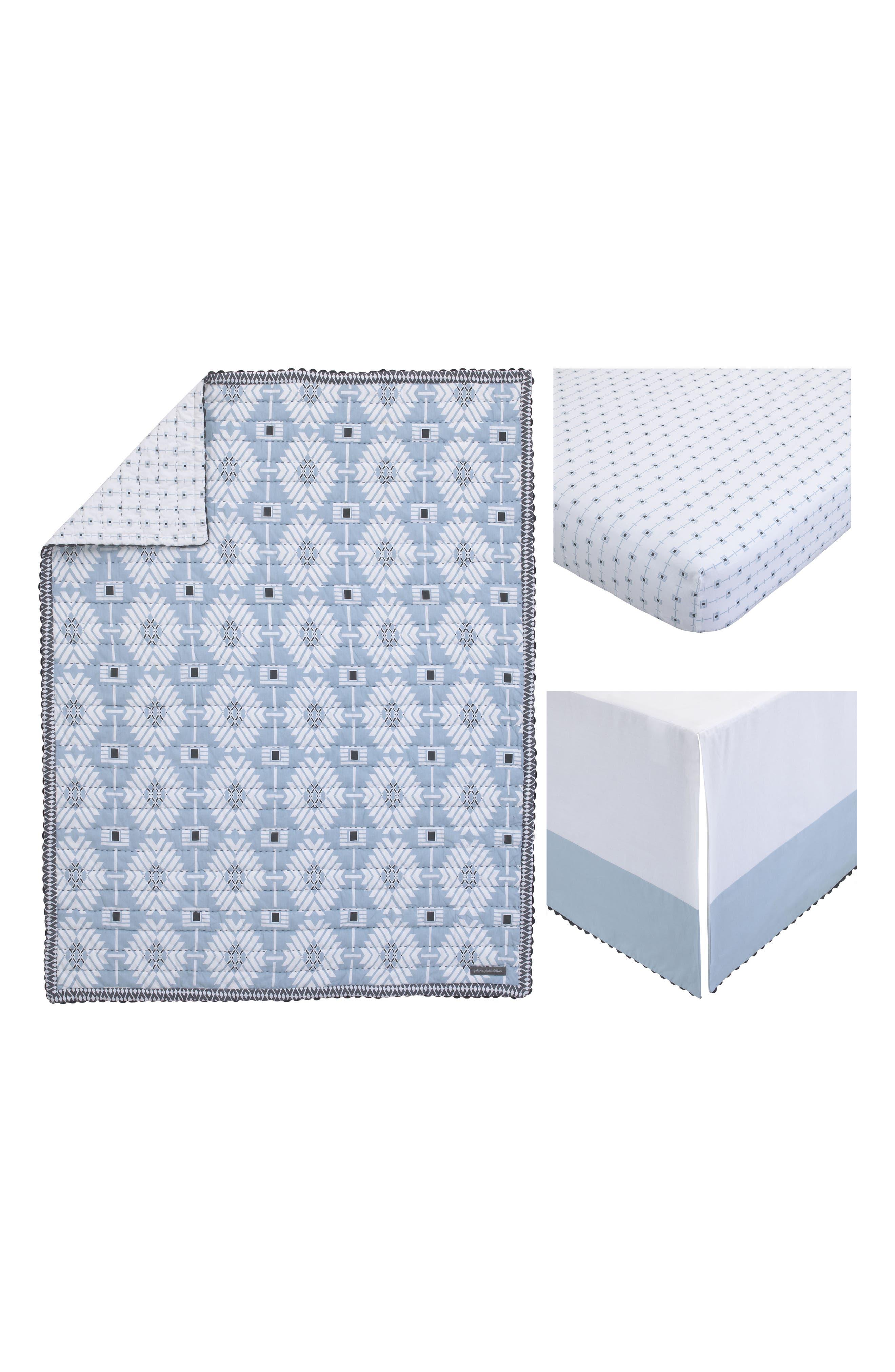Southwest Skies 3-Piece Bedding Set,                             Alternate thumbnail 5, color,                             Light Blue