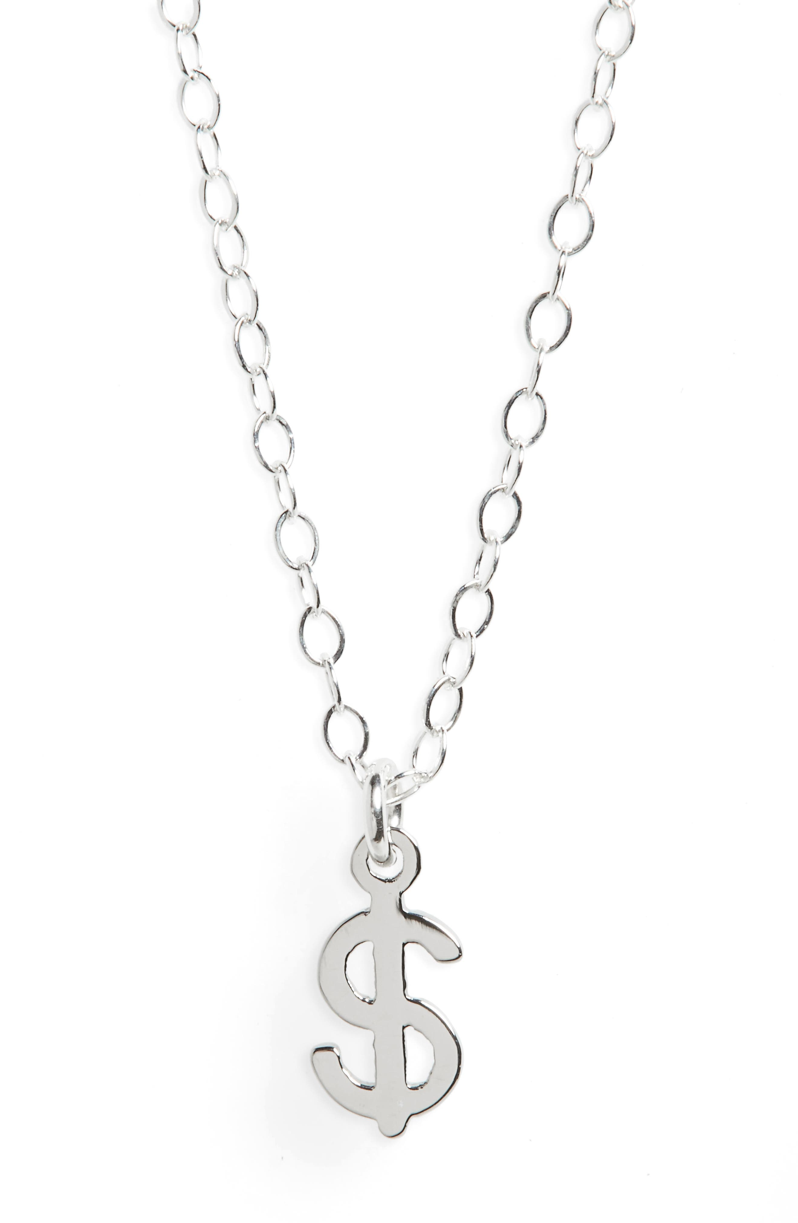 Seoul Little Dollar Sign Necklace