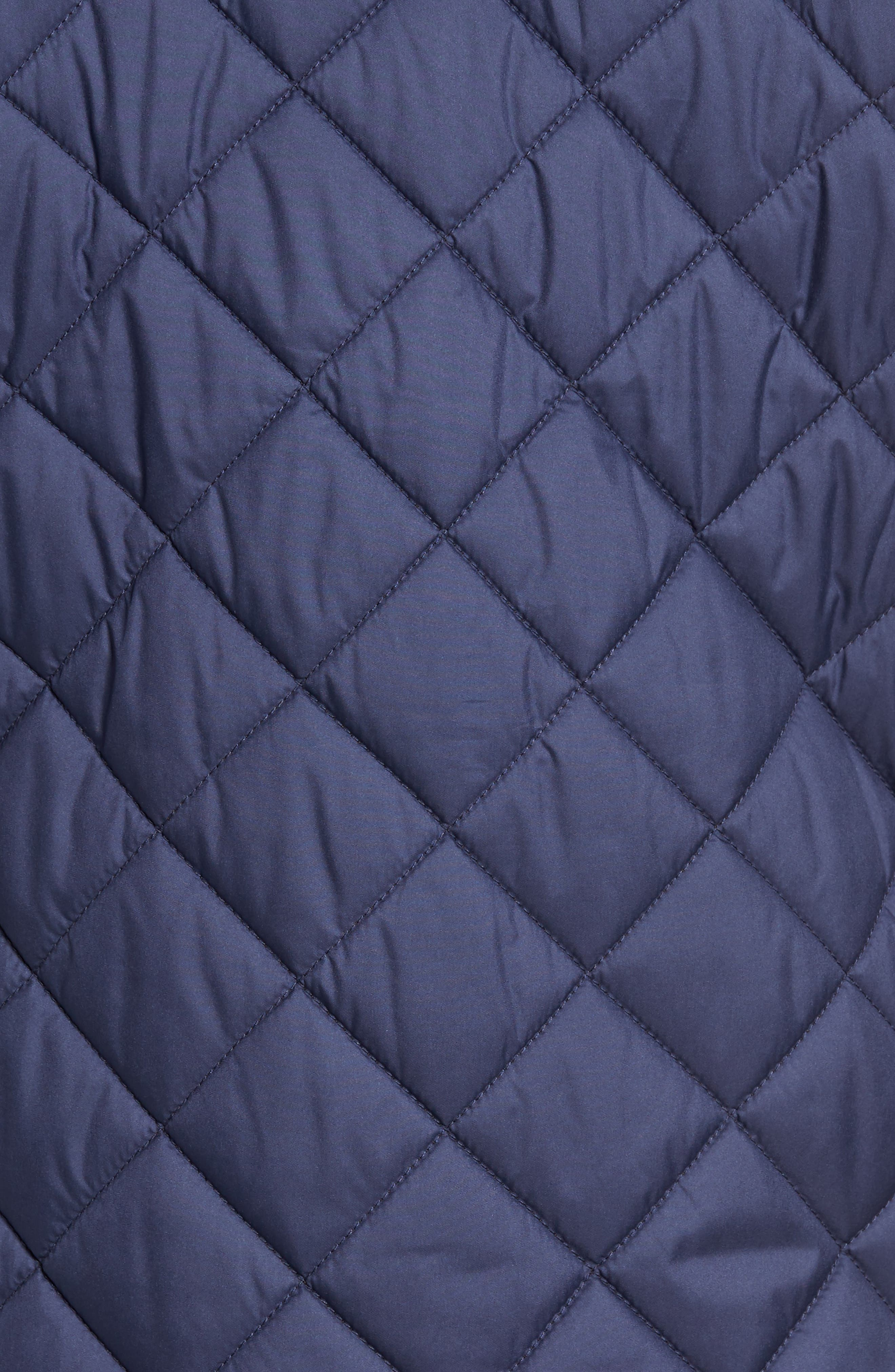 Essex Quilted Vest,                             Alternate thumbnail 5, color,                             Perfect Navy