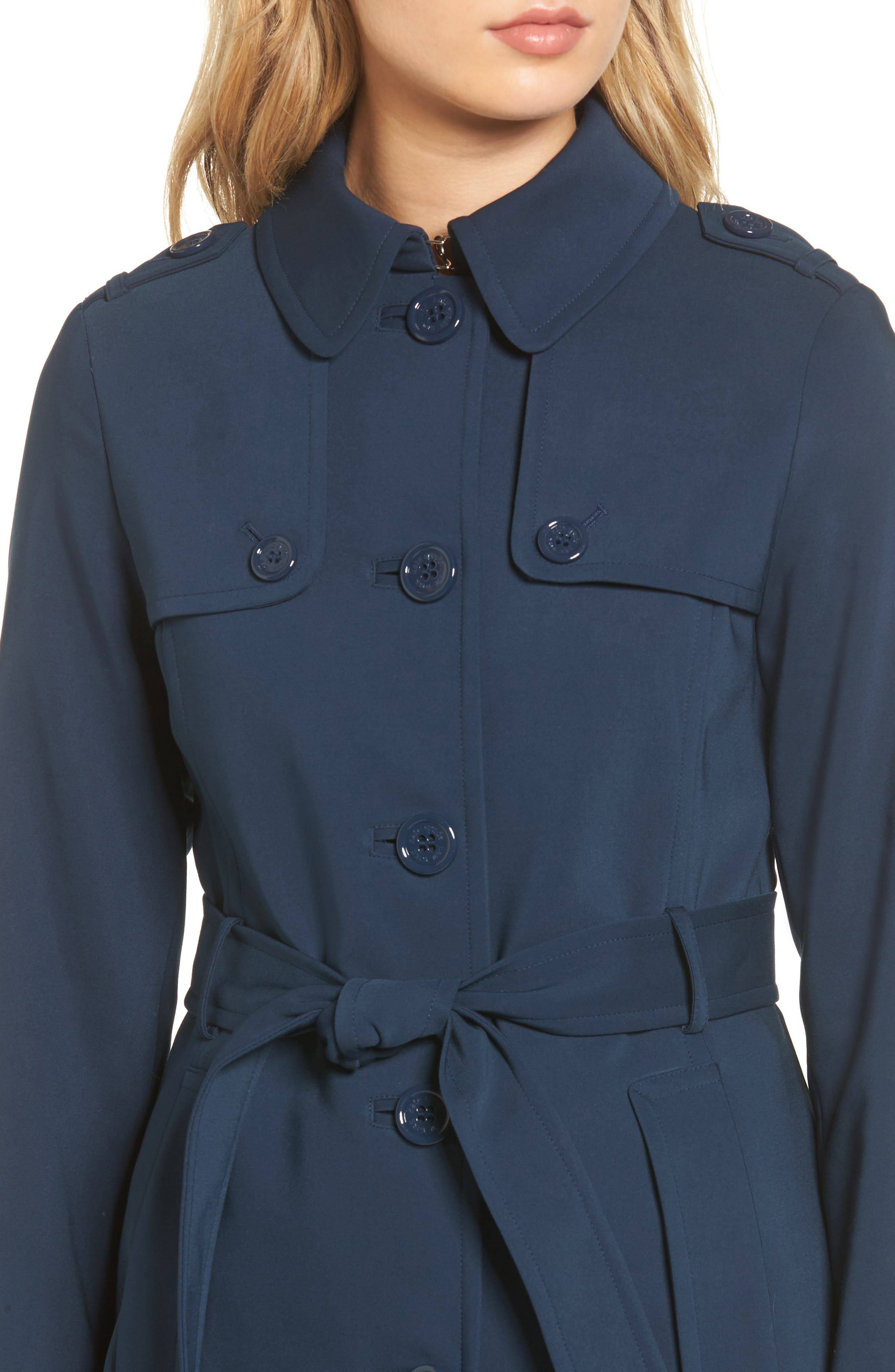 3-in-1 trench coat,                             Alternate thumbnail 4, color,                             Rich Navy