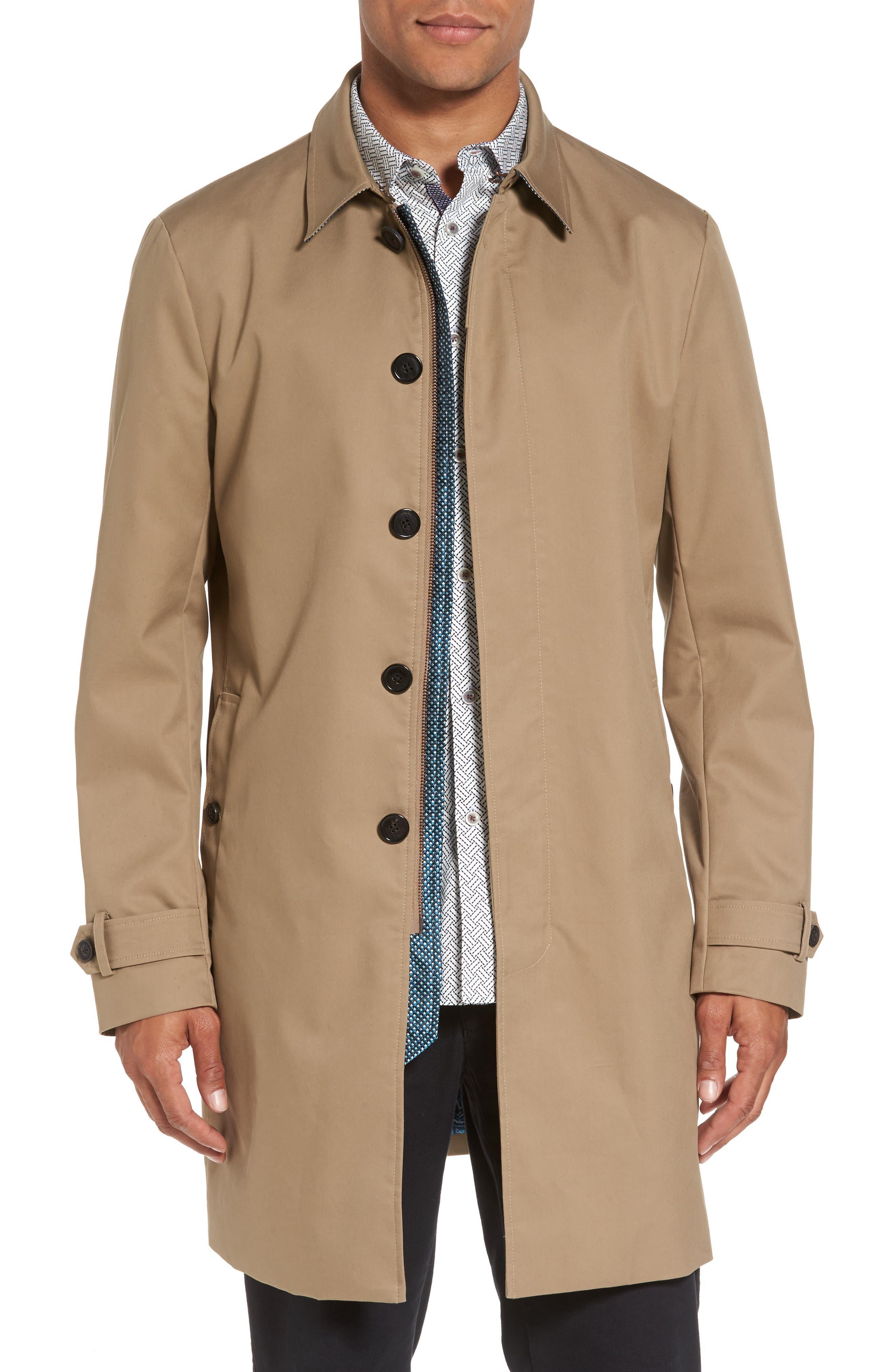 Endurance Rain Coat,                         Main,                         color, Natural