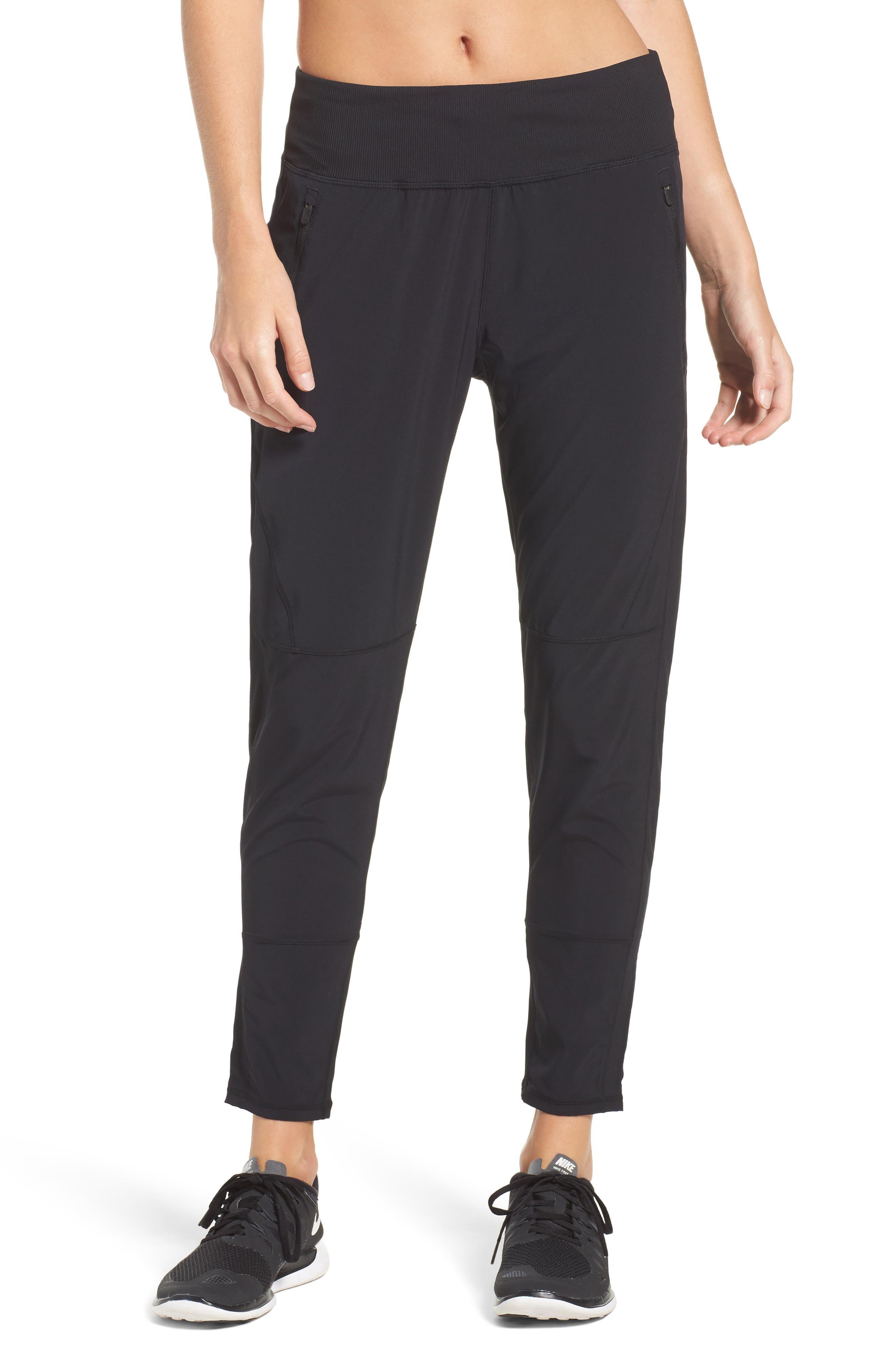 Transition Ankle Pants,                         Main,                         color, Black