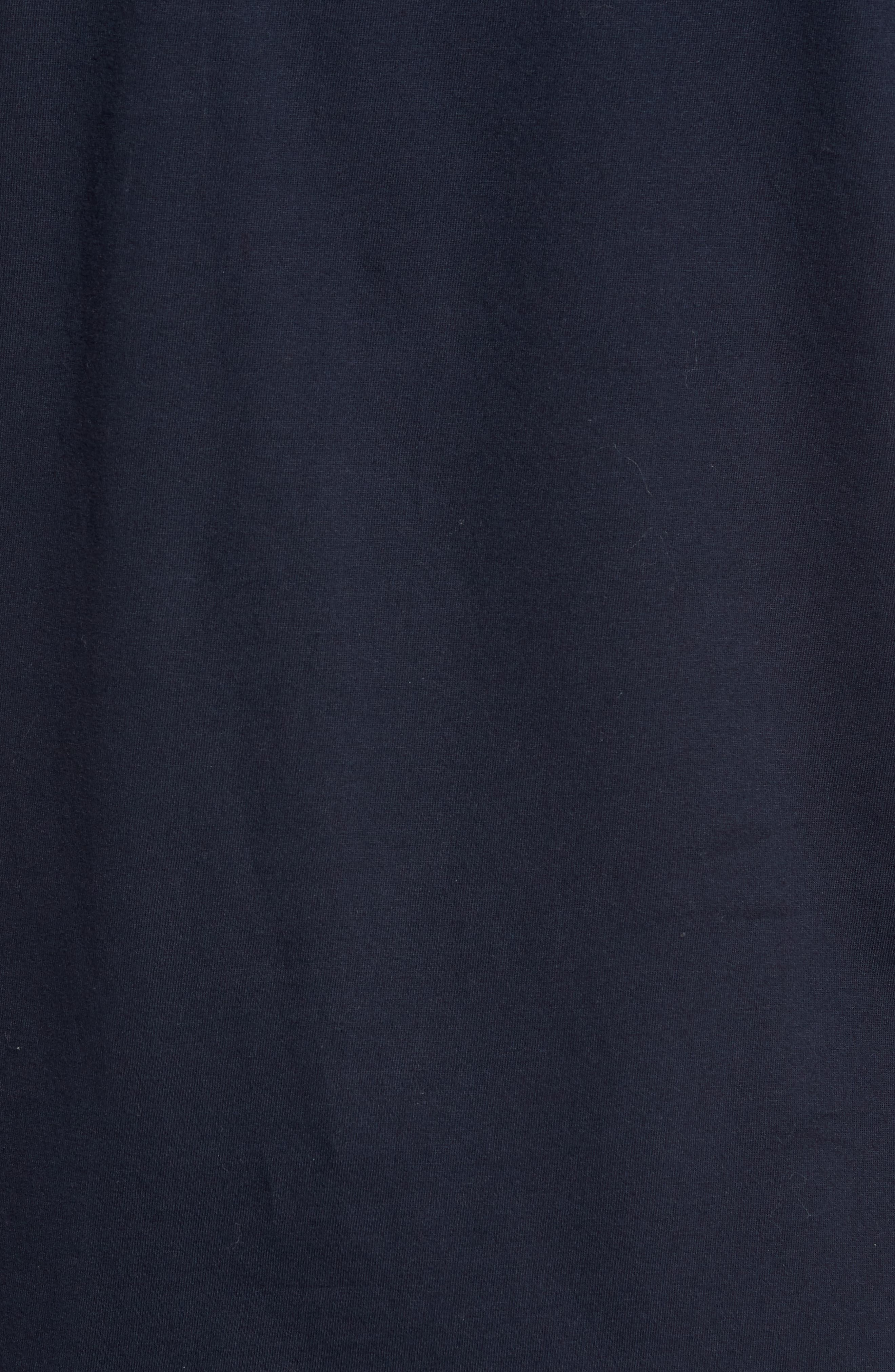 Comme Ci Comme Ça Regular Fit T-Shirt,                             Alternate thumbnail 6, color,                             Marine Blue/ White