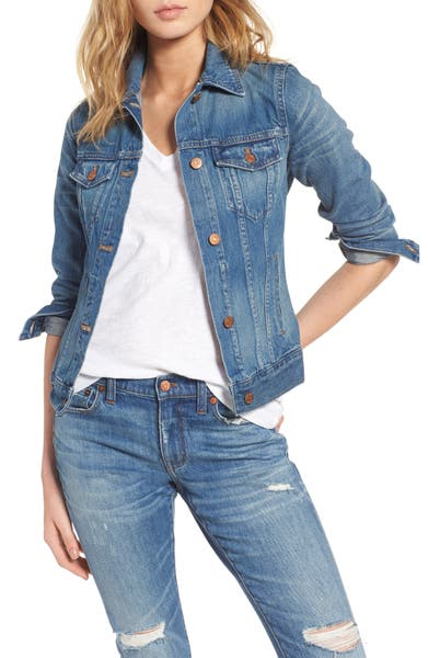 Main Image - Madewell Jean Jacket (Pinter Wash)
