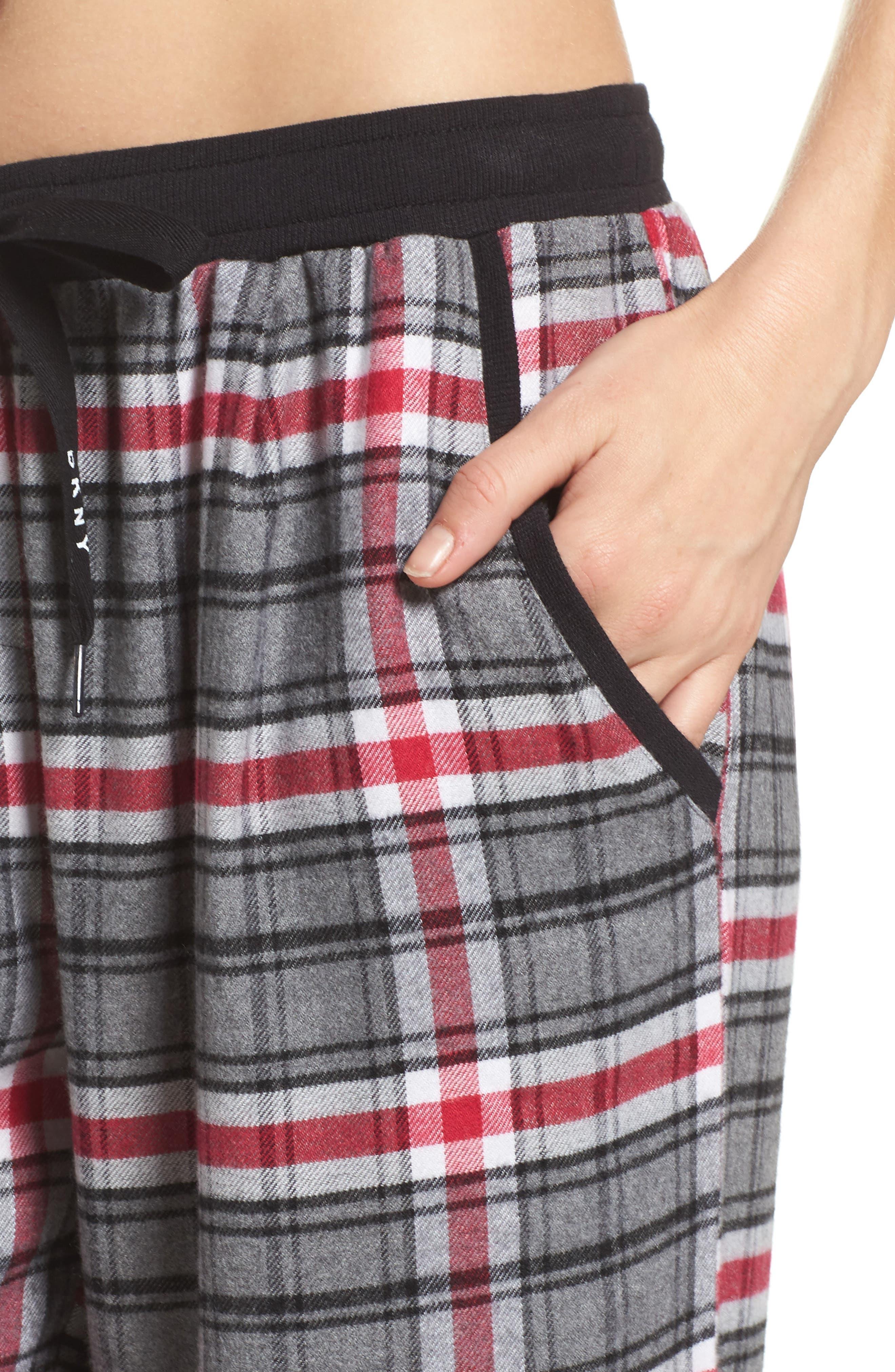Alternate Image 6  - DKNY Pajama Pants