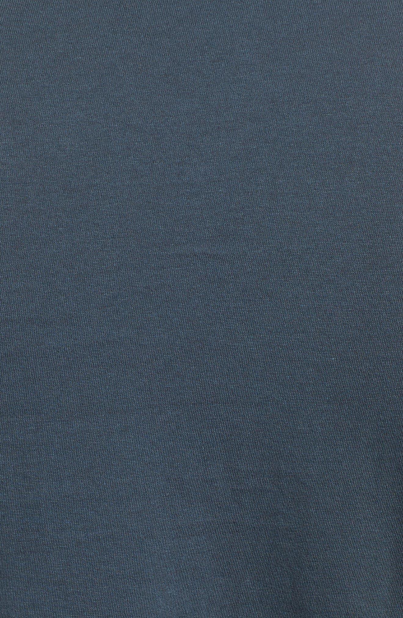 Big Palm Graphic T-Shirt,                             Alternate thumbnail 5, color,                             Midnight