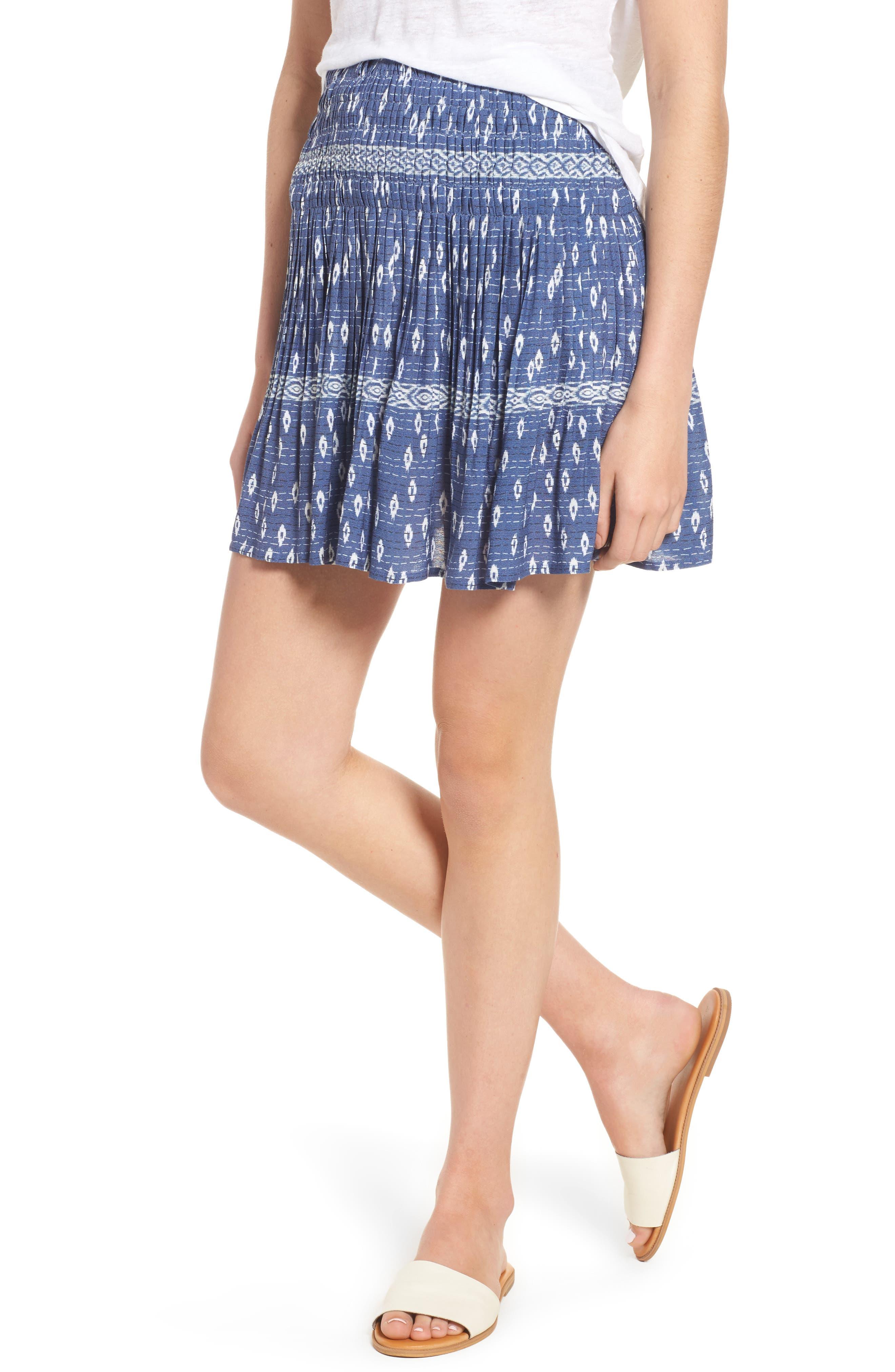 Rails Braelin Ruffle Miniskirt