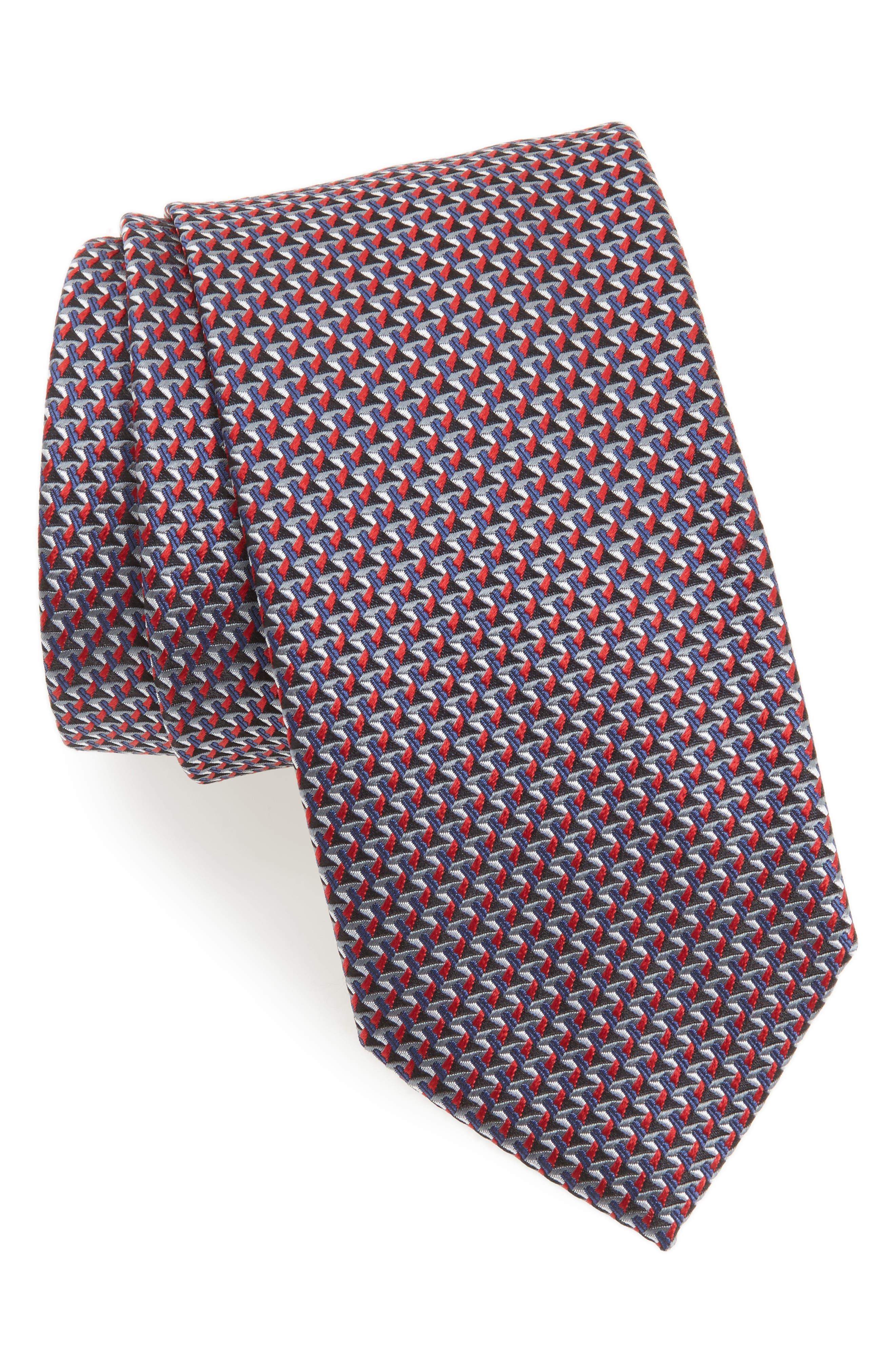 Alternate Image 1 Selected - Brioni Geometric Silk Tie