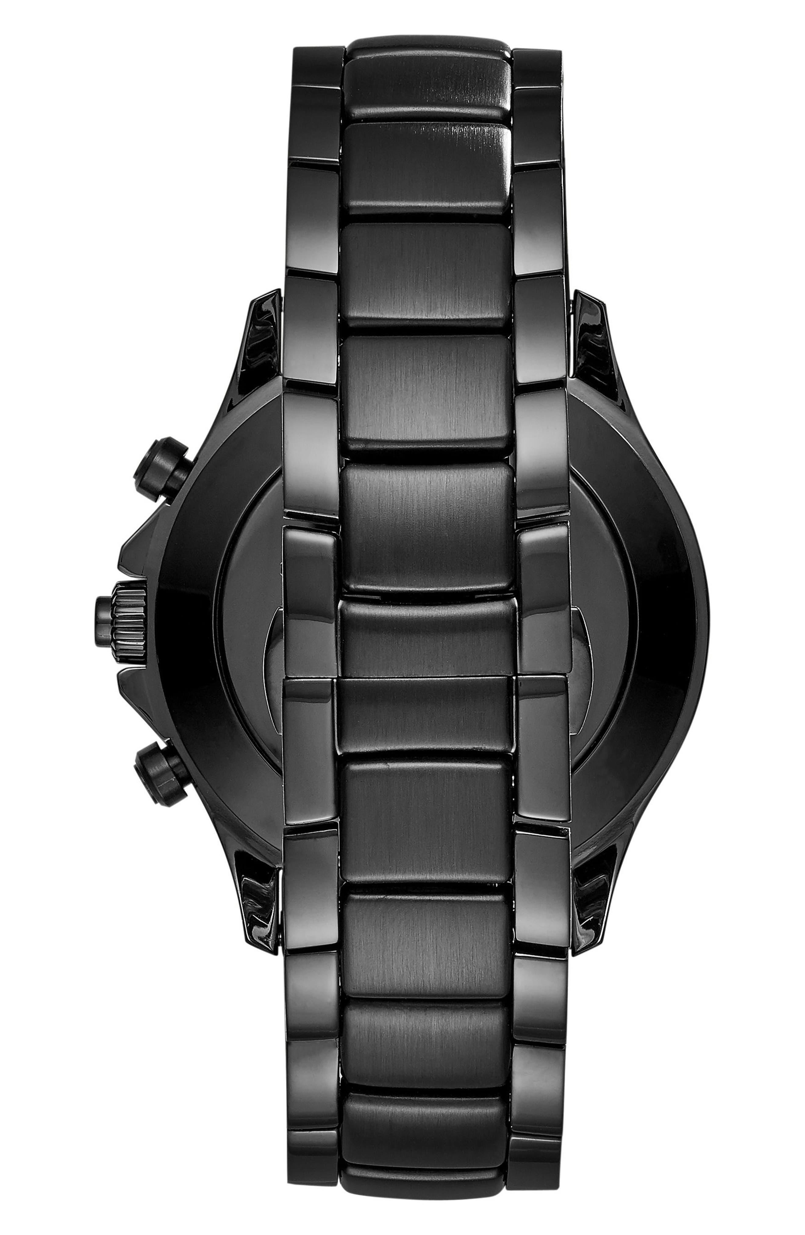 Alternate Image 2  - Emporio Armani Bracelet Hybrid Smartwatch, 43mm