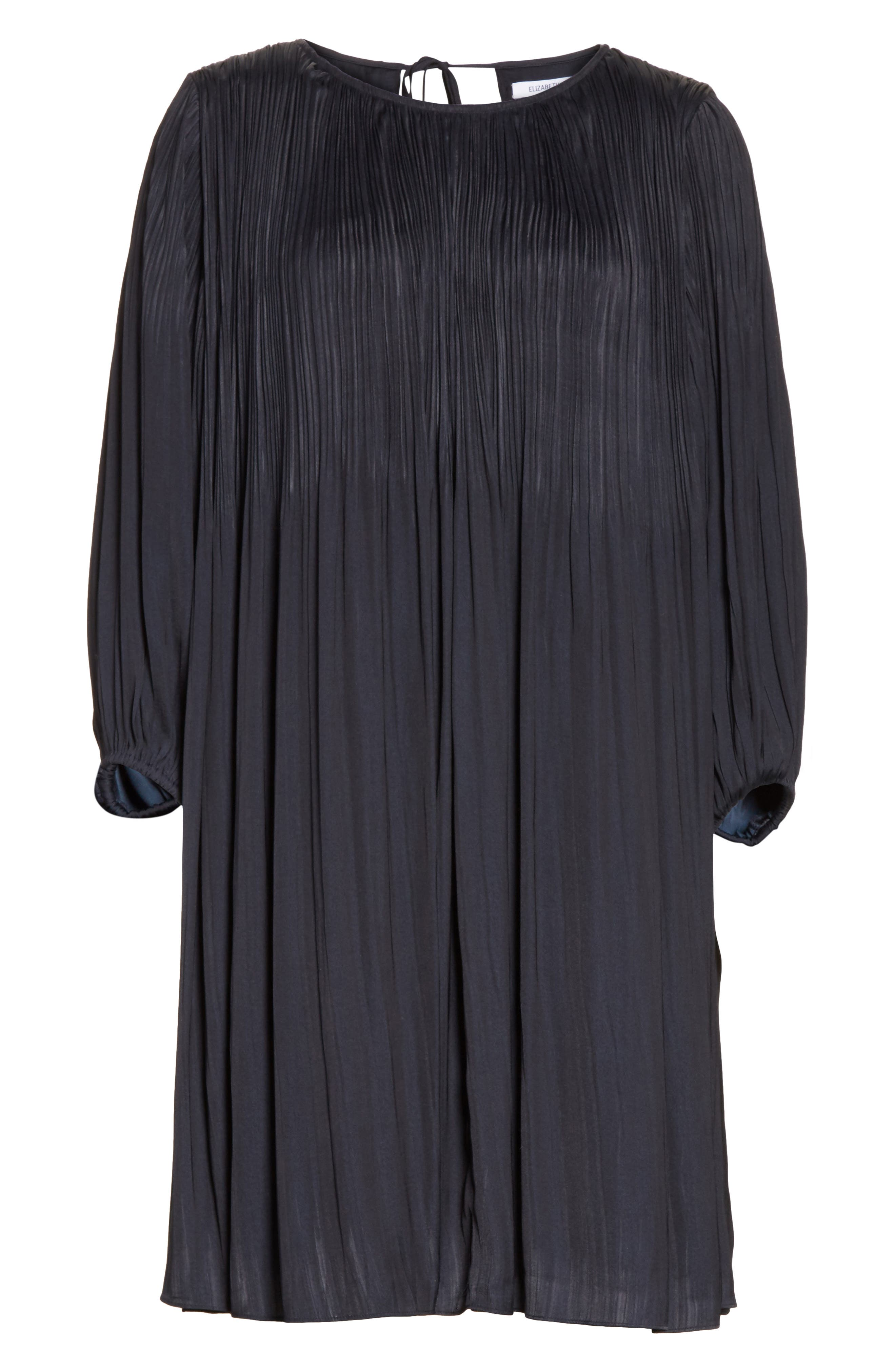 Alternate Image 6  - Elizabeth and James Florrie Pleated Shift Dress