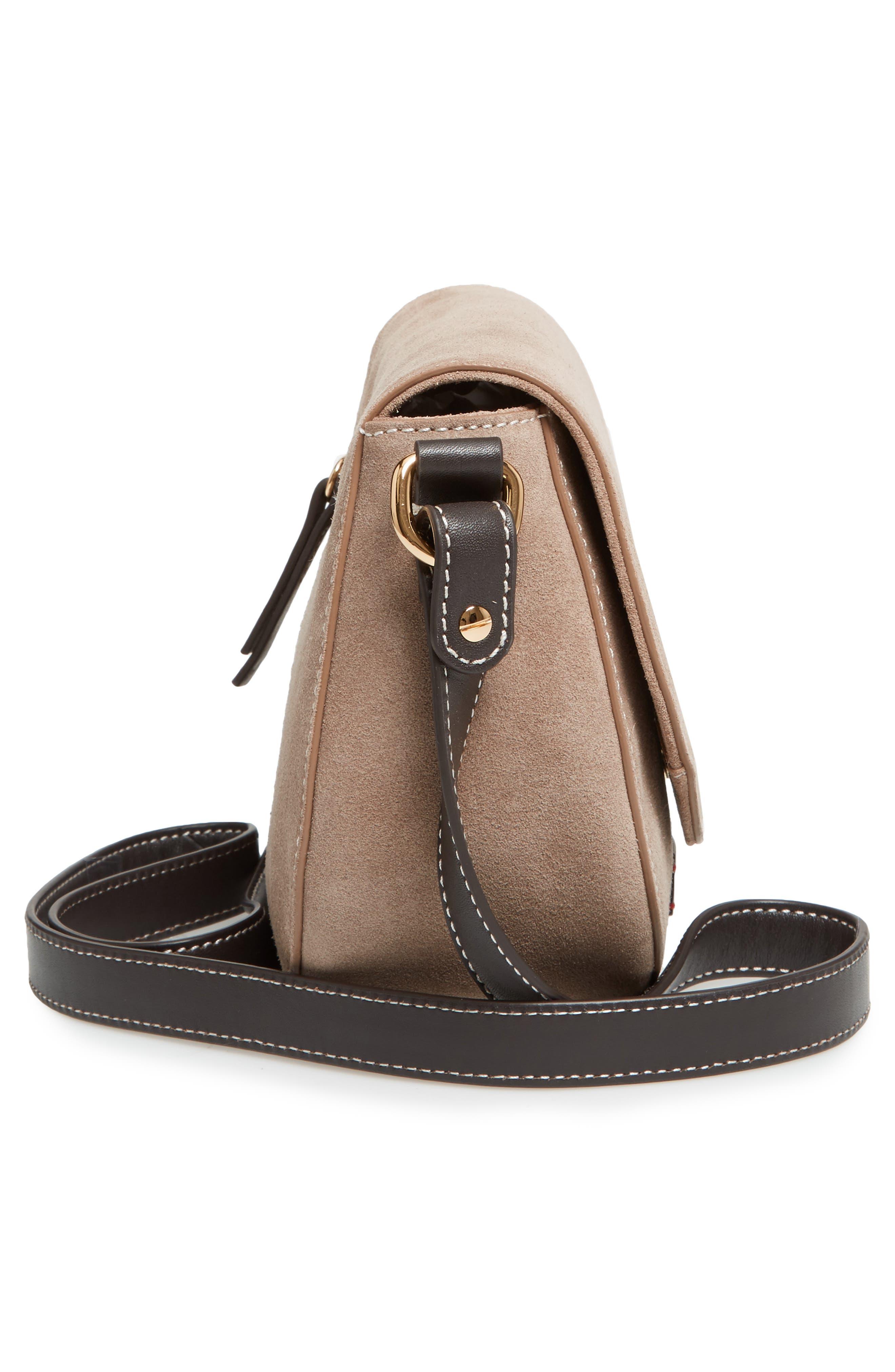 Alternate Image 5  - Frances Valentine Mini Ellen Suede Crossbody Bag