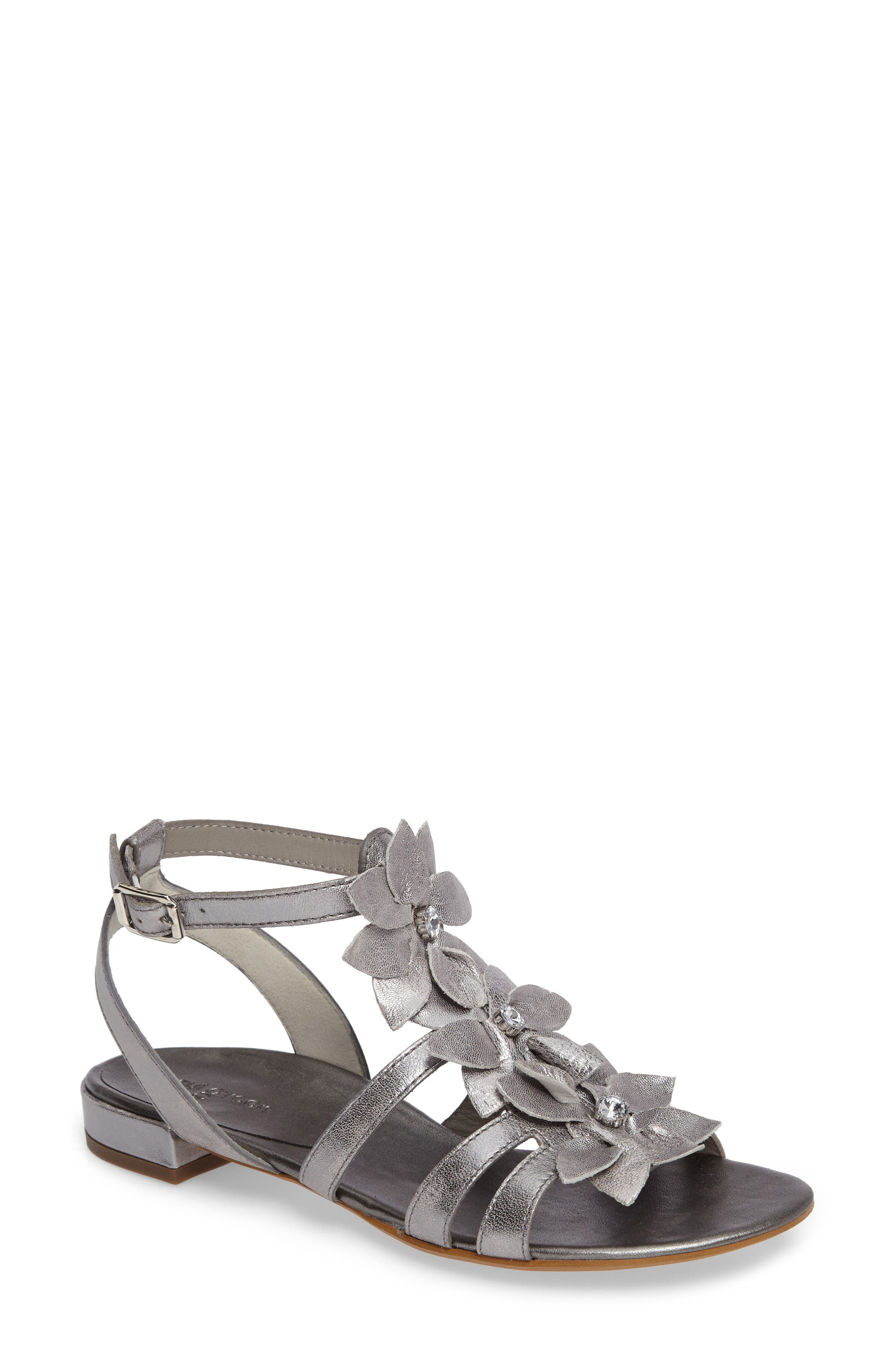 PAUL GREEN Norien Embellished Flower Sandal