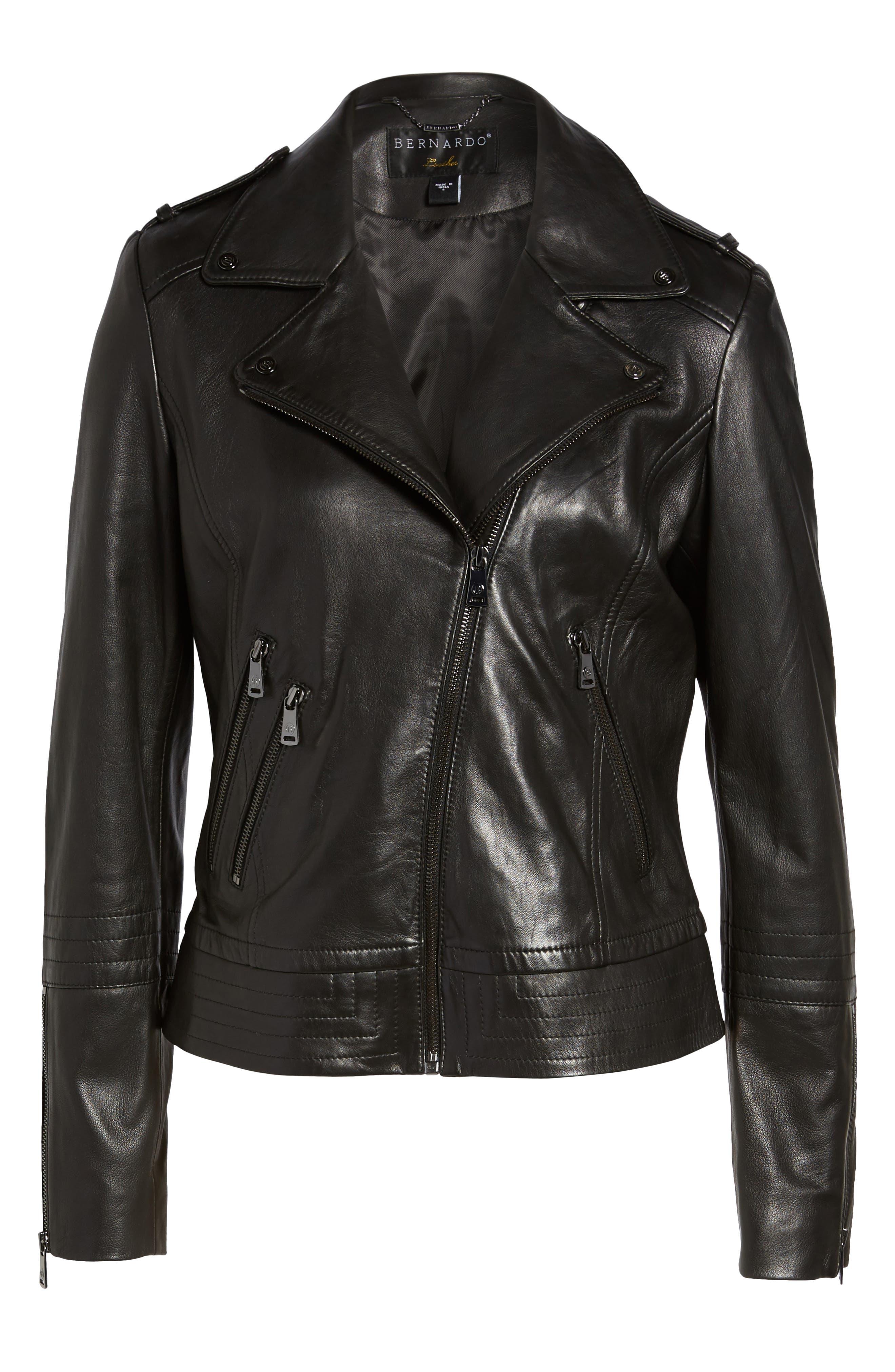 Alternate Image 6  - Bernardo Lirio Moto Jacket