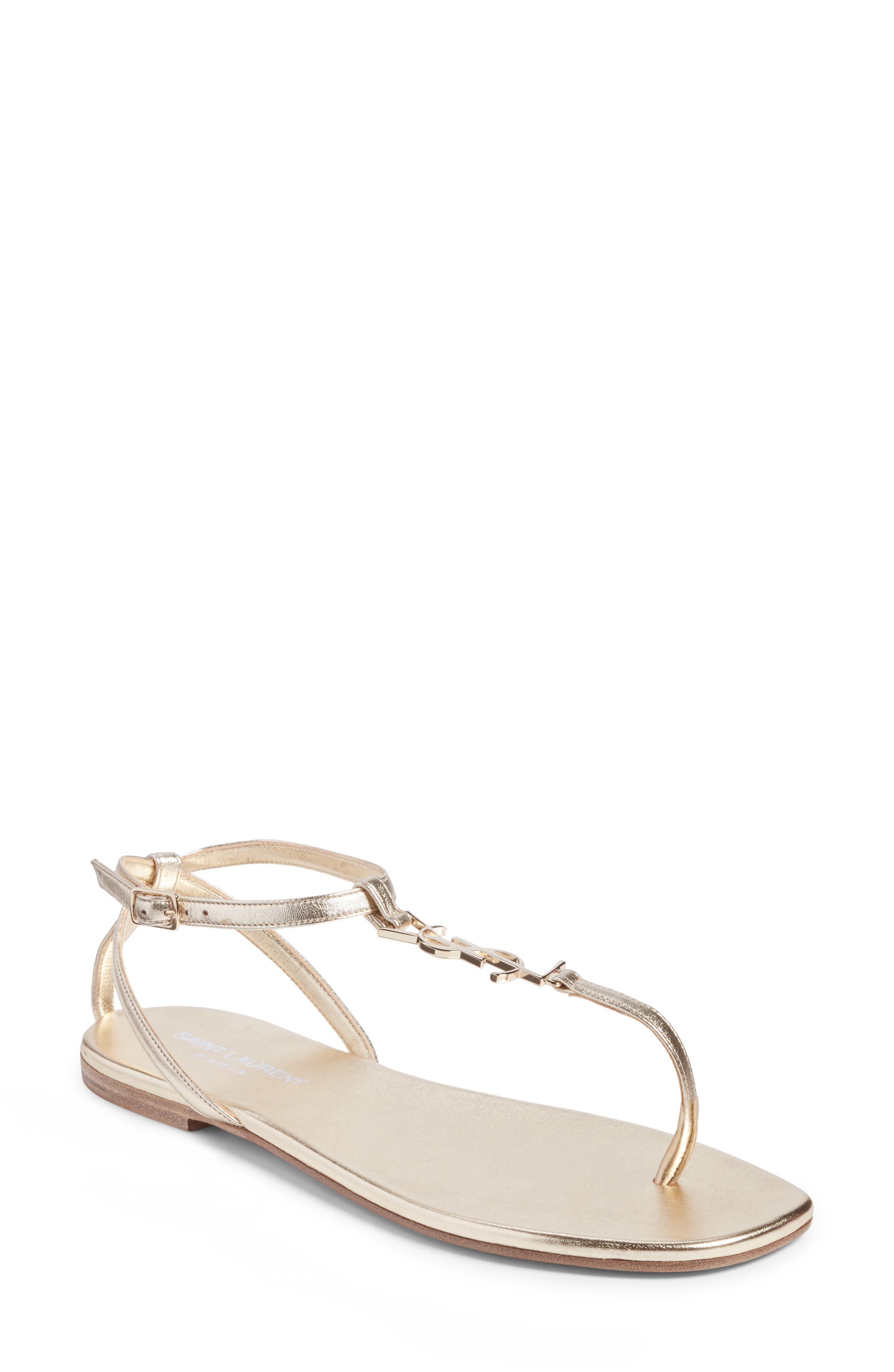 Saint Laurent Pieds Sandal (Women)