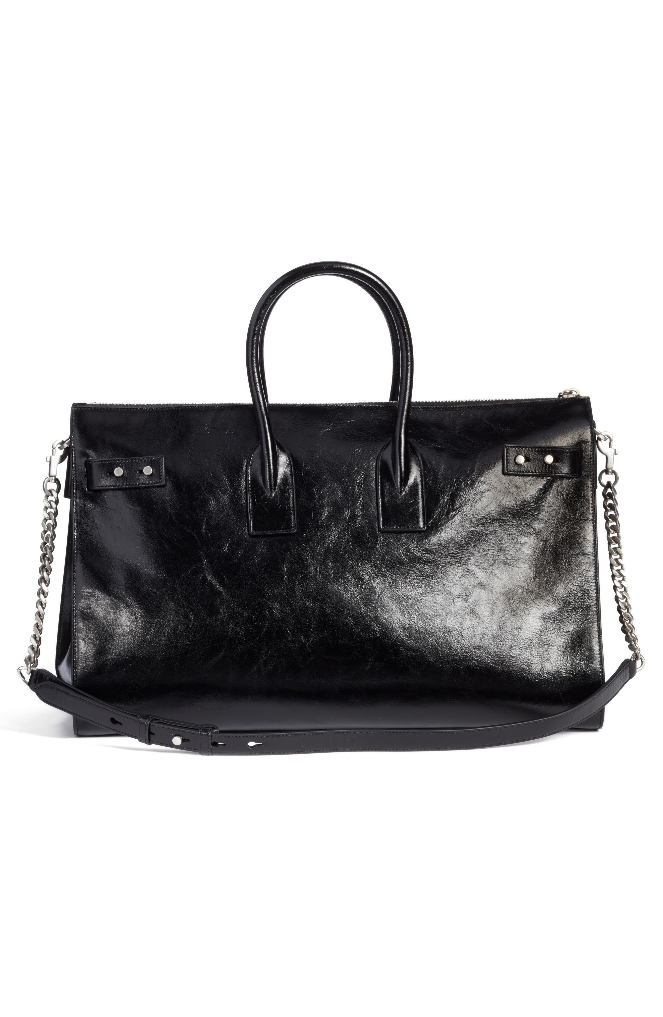 Alternate Image 2  - Saint Laurent Sac de Jour Glacé Moroder Leather Duffel