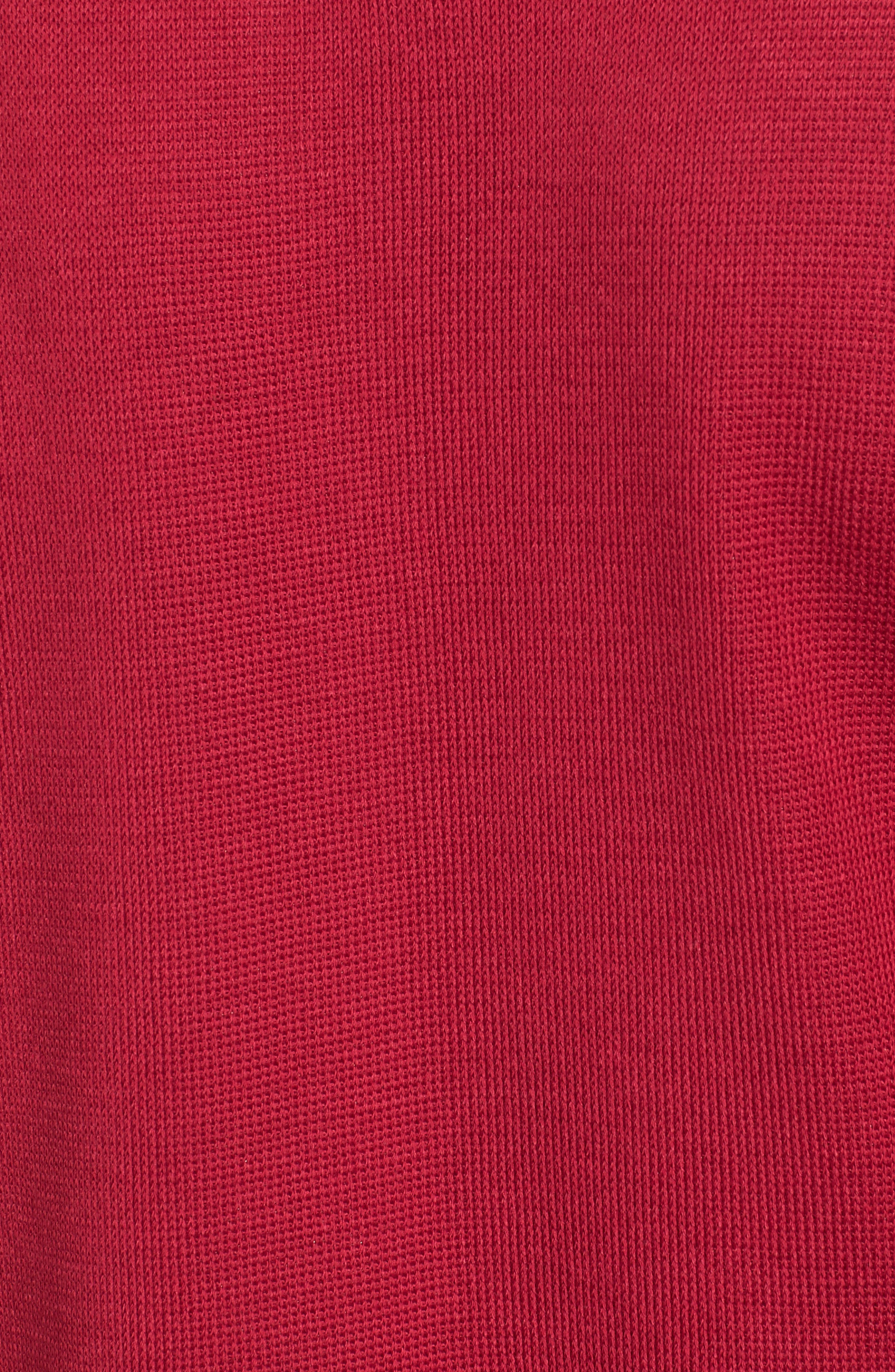Geometric Border Jacket,                             Alternate thumbnail 5, color,                             Charged Pink
