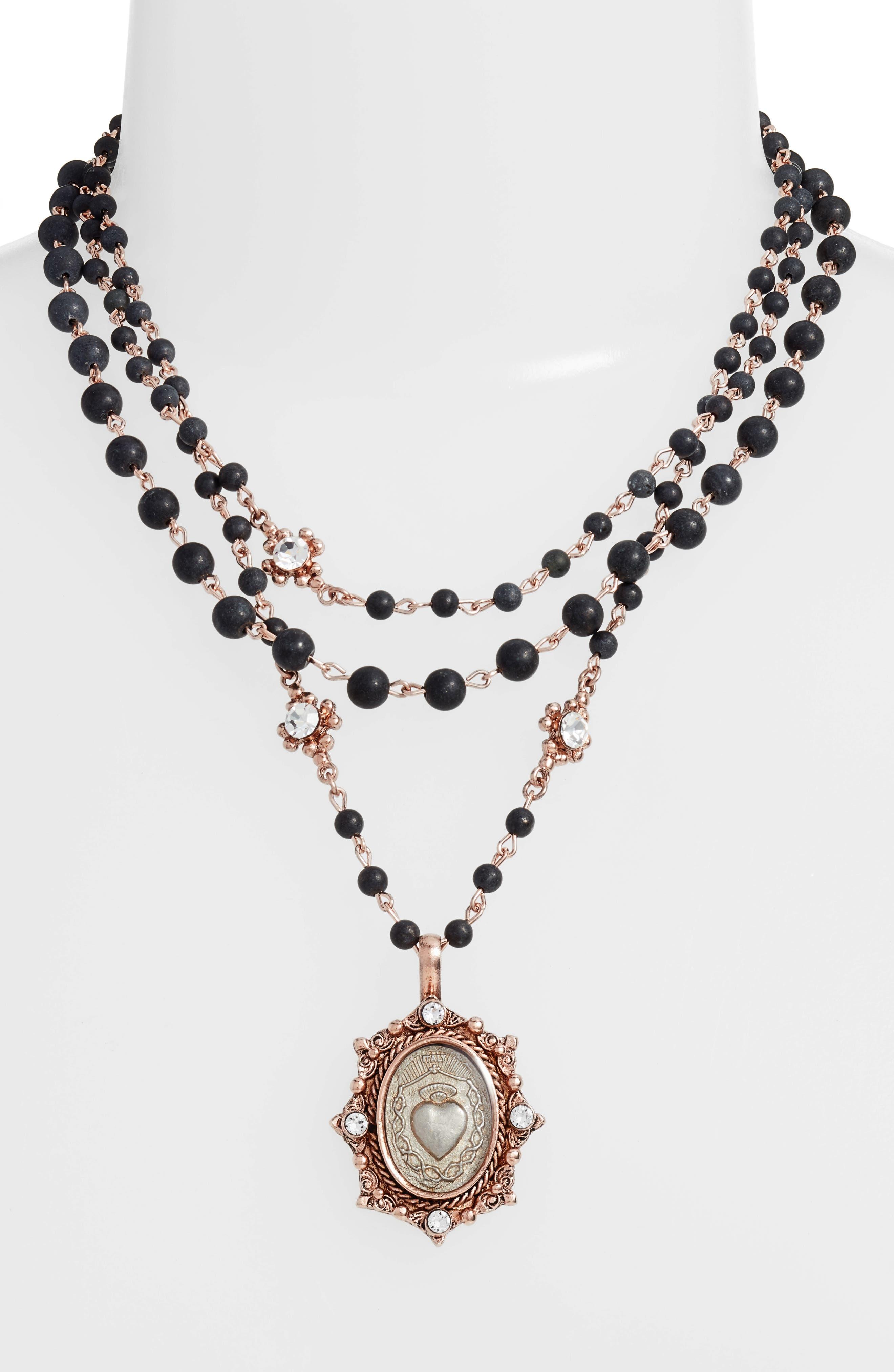 Alternate Image 2  - Virgins Saints & Angels Magdalena Multistrand Necklace (Nordstrom Exclusive)