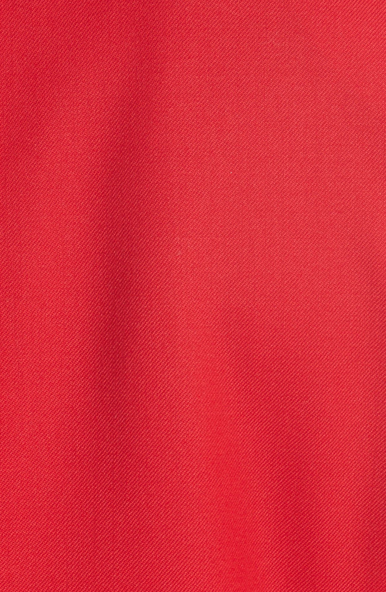 Stretch Wool Blazer,                             Alternate thumbnail 7, color,                             Red