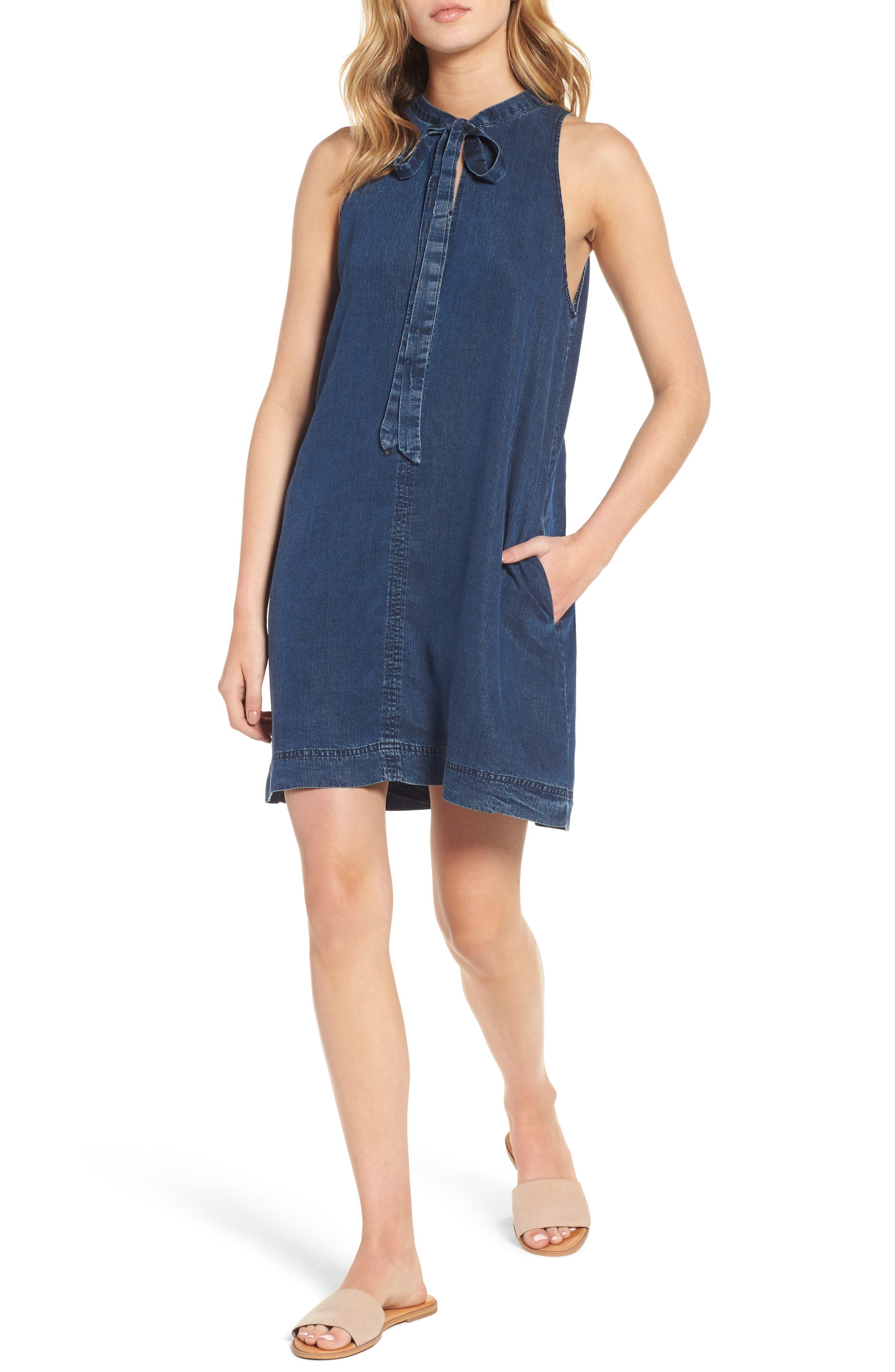 Rails Rhiannon Chambray Shift Dress
