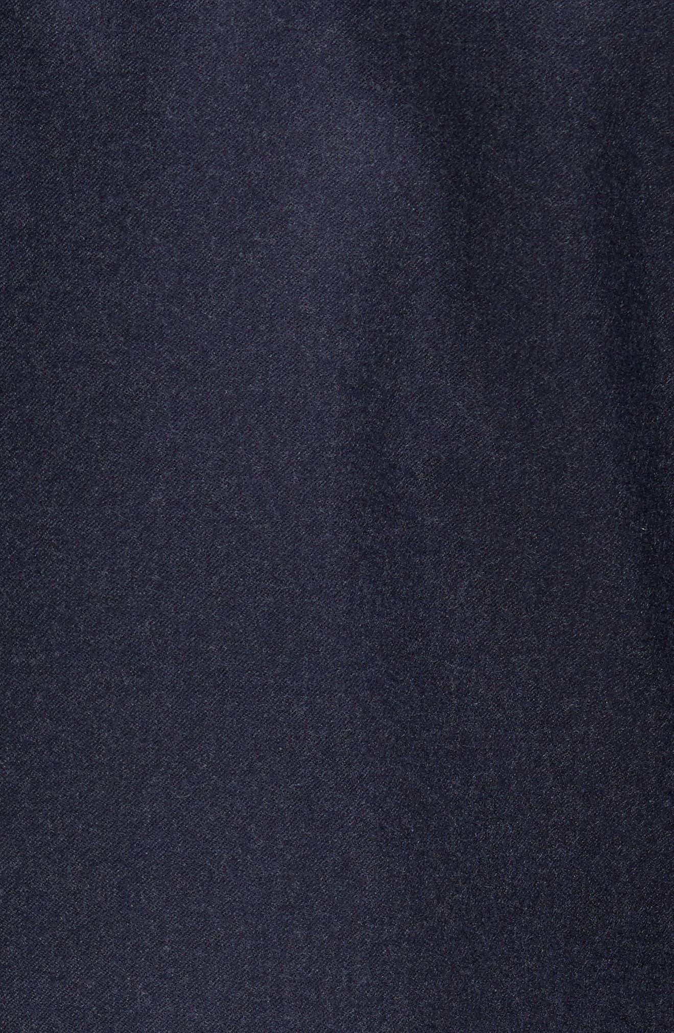Alternate Image 5  - Ted Baker London Tucker Trim Fit Plaid Wool Sport Coat