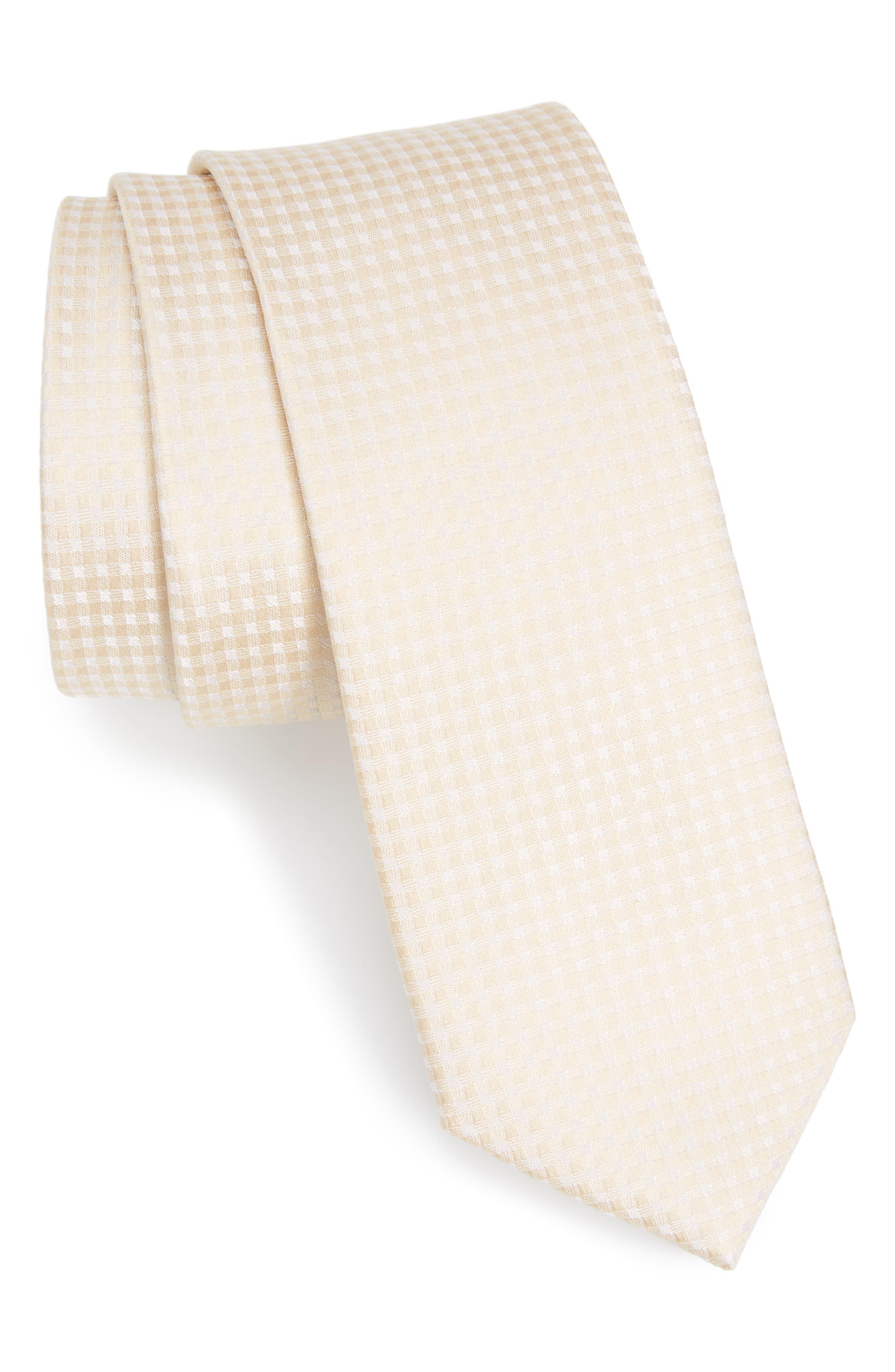 Main Image - The Tie Bar Check Silk Tie