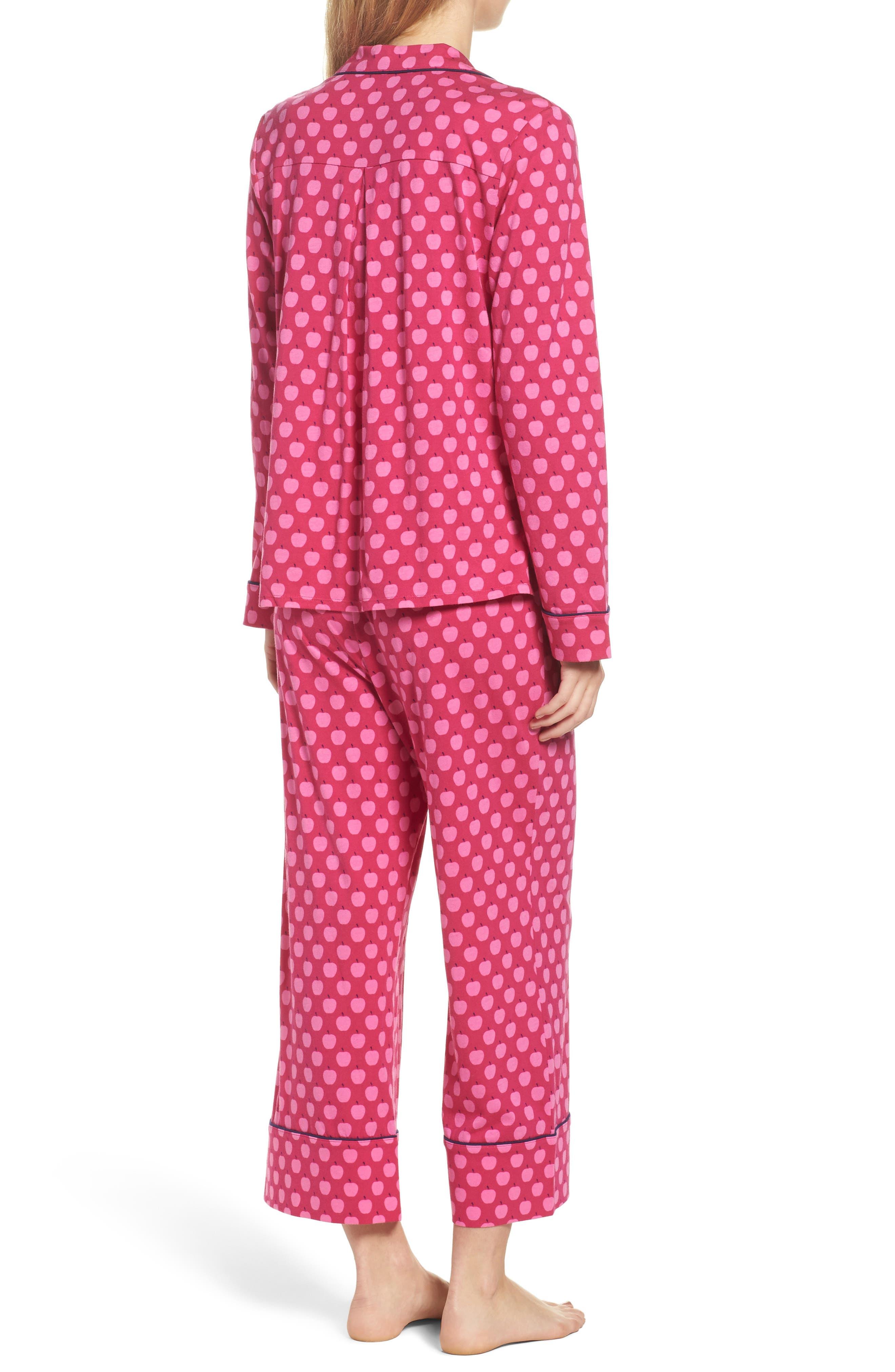 Alternate Image 2  - kate spade new york crop pajamas
